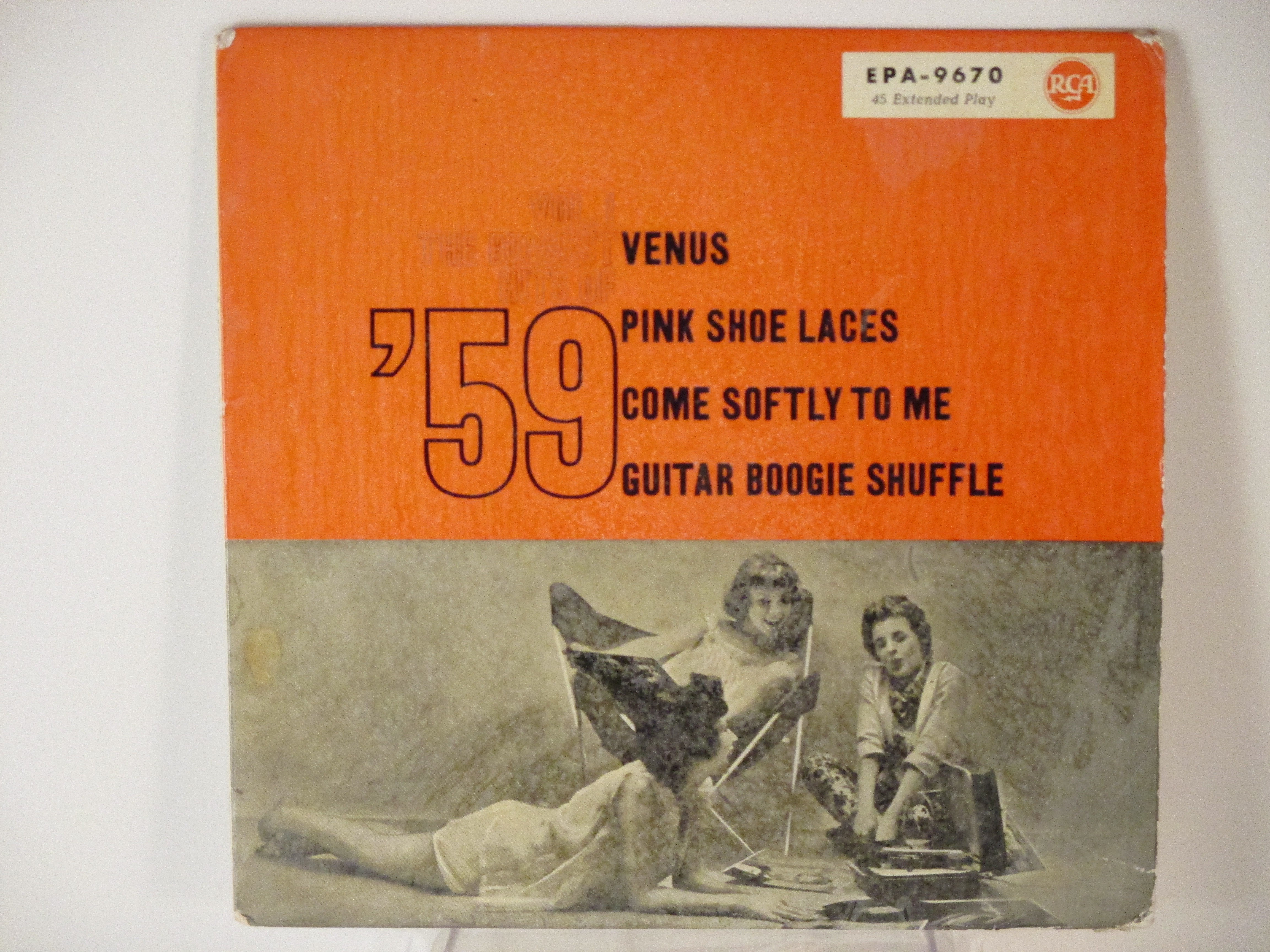 RCA CAMDEN ROCKERS : (EP) Venus / Pink shoe laces / Come softly to me / Guitar Boogie Shuffle