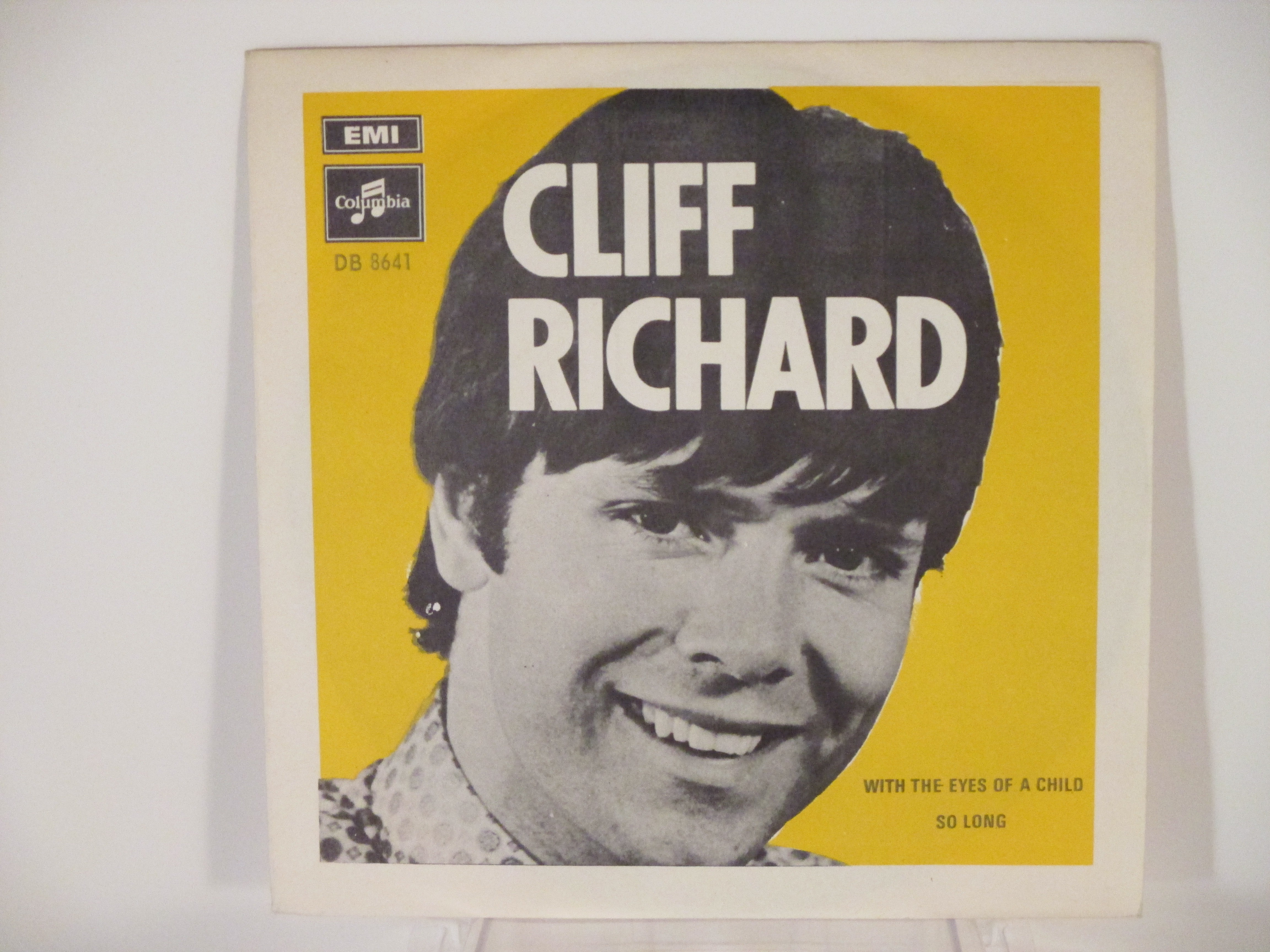 CLIFF RICHARD : With the eyes of a child / So long