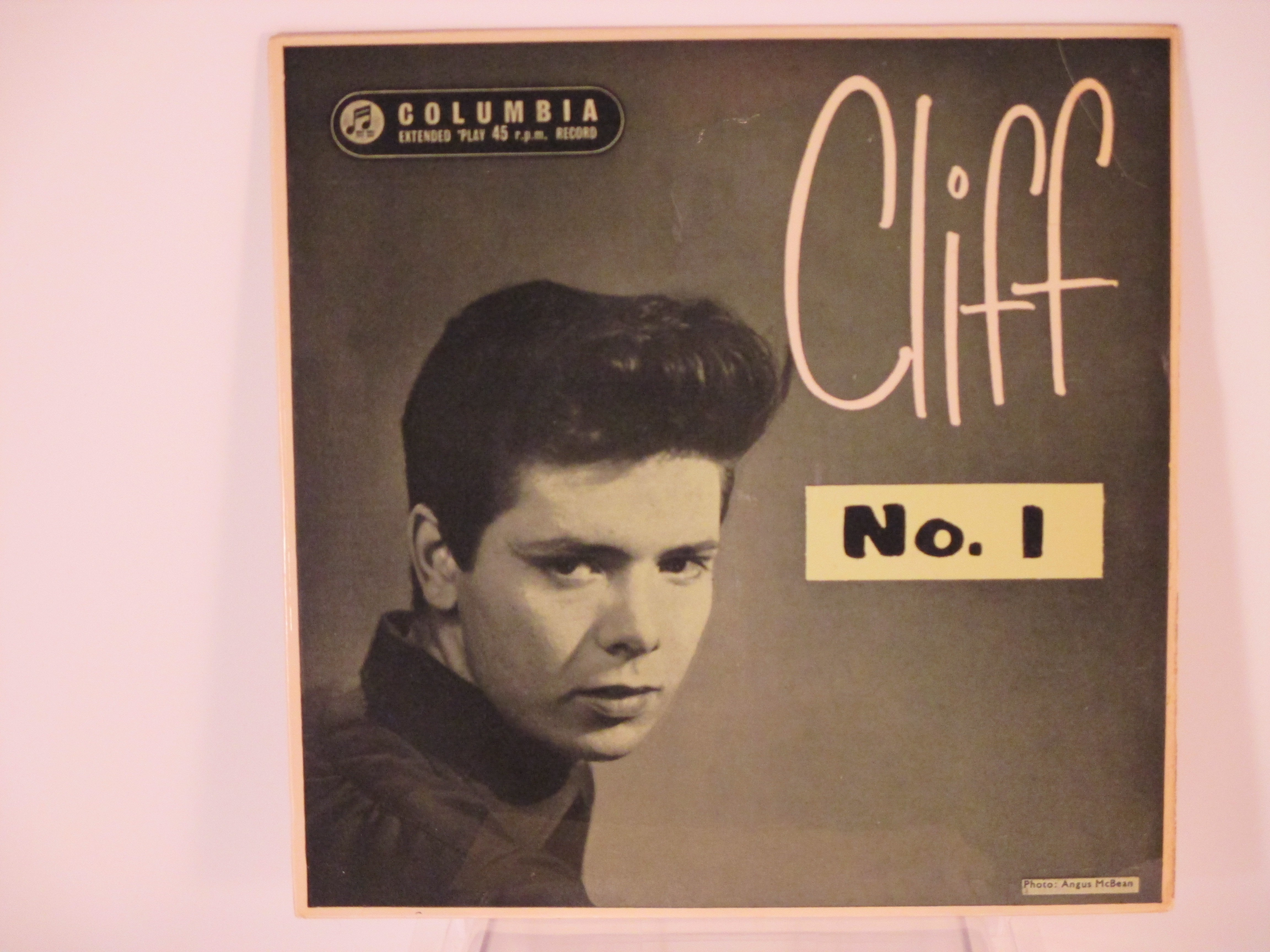 "CLIFF RICHARD : (EP)  ""Cliff No.1"" : Apron strings / My babe / Down the line / I got a feeling / Jet black / Baby I don't care"