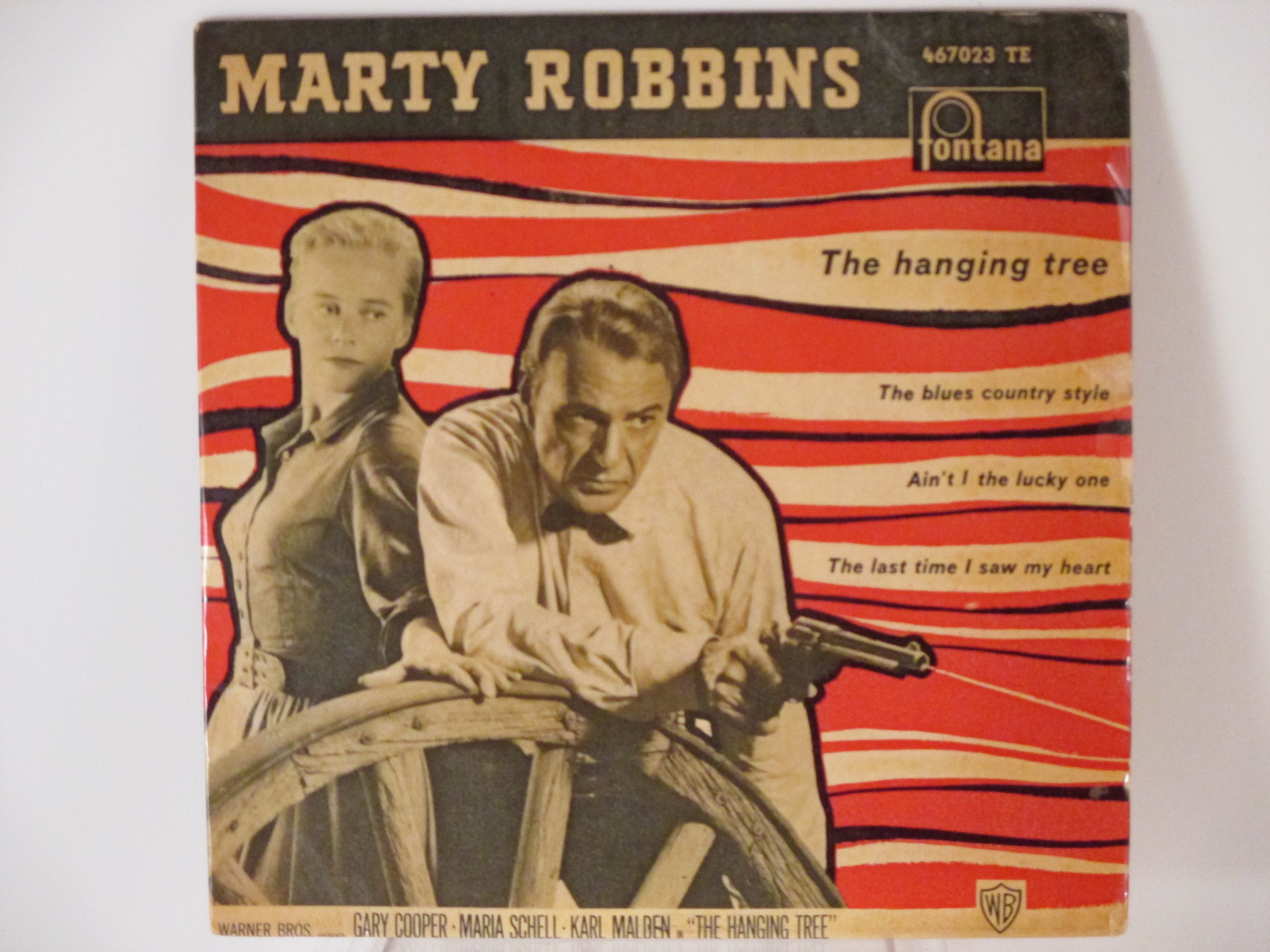 MARTY ROBBINS : (EP) The hanging tree / The blues country style / Ain't I the lucky one / The last time I saw my heart