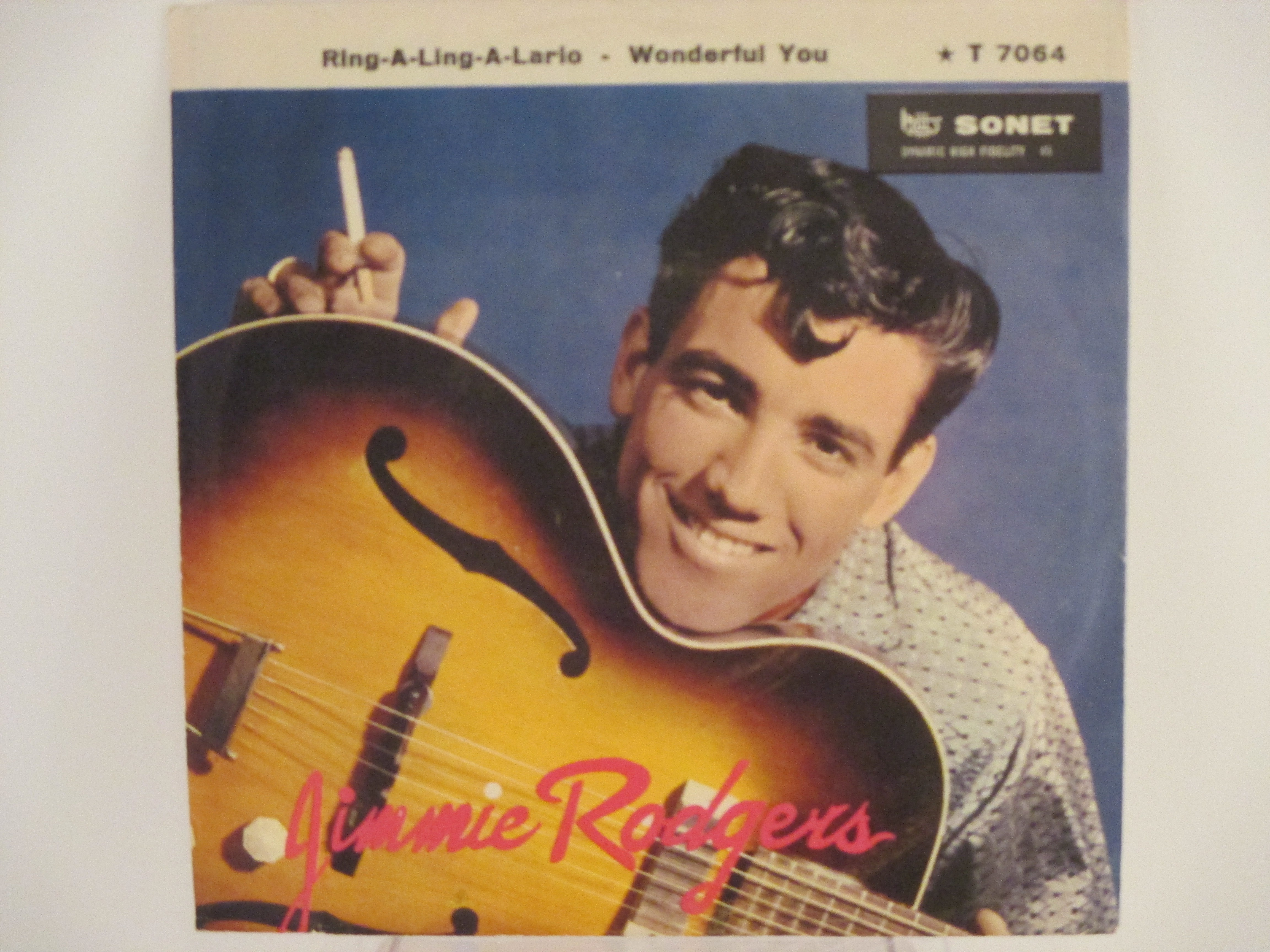JIMMIE RODGERS : Ring-a-ling-a-lario / Wonderful you