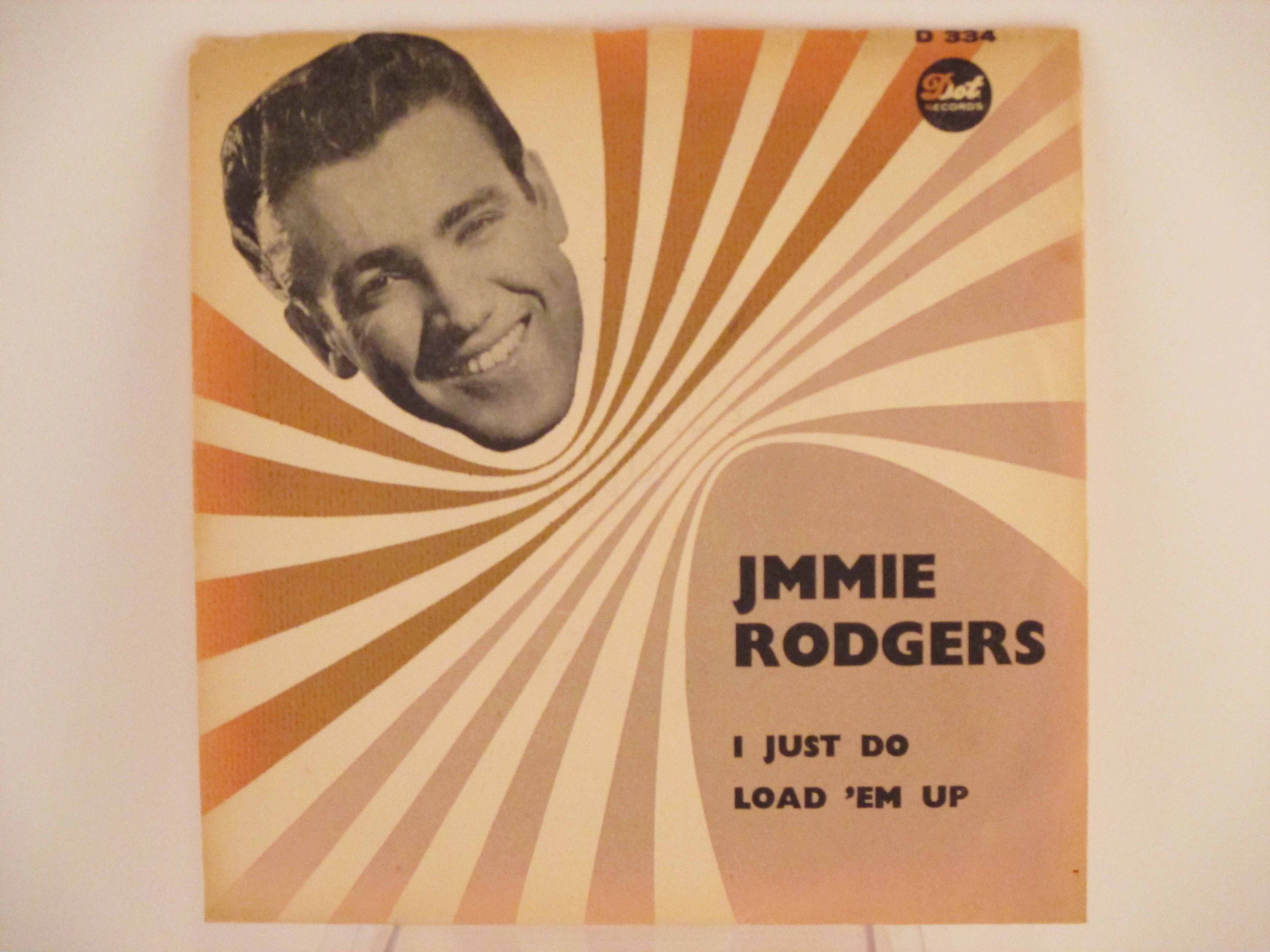 JIMMIE RODGERS : I just do / Load 'em up