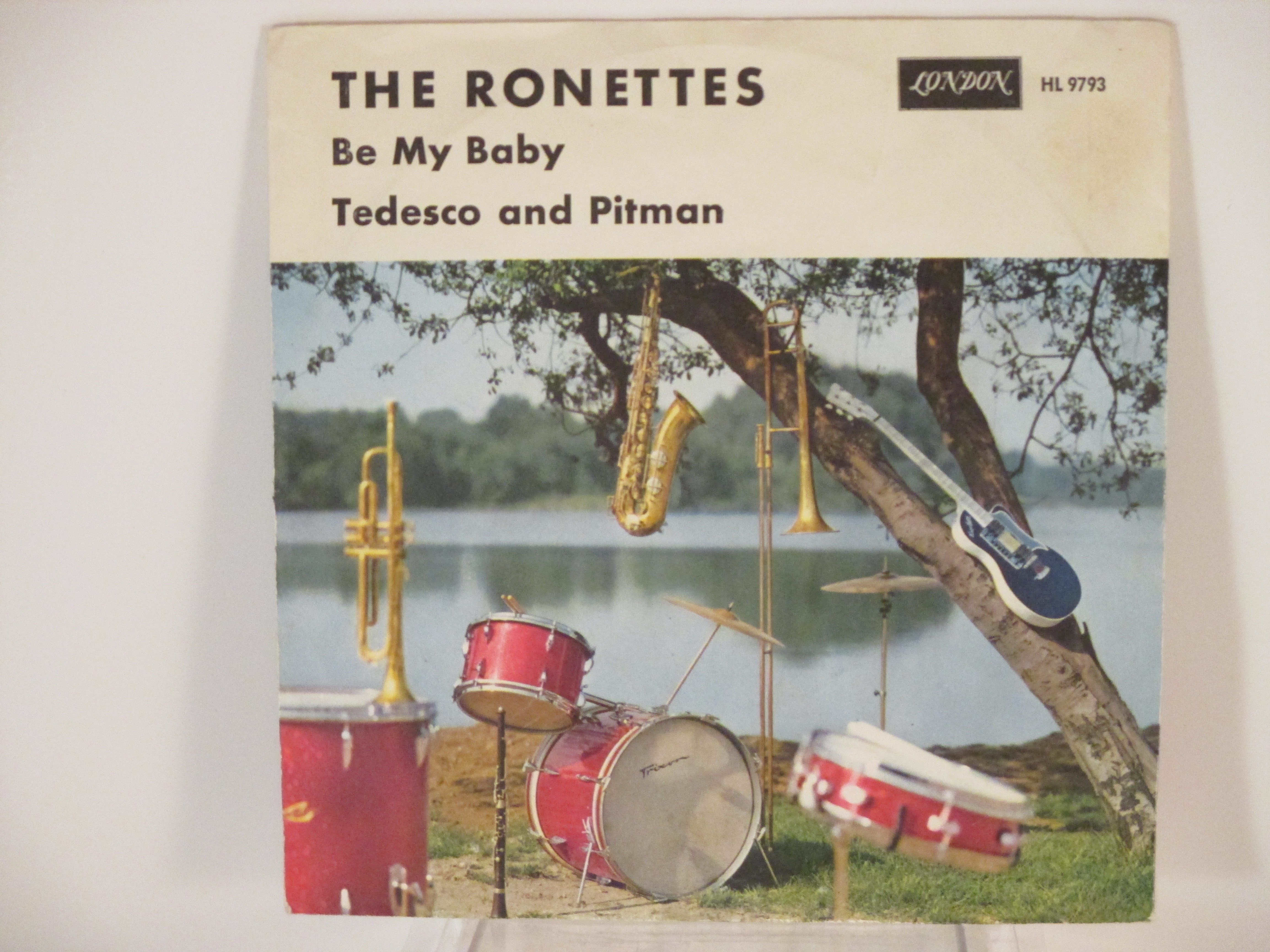 RONETTES : Be my baby / Tedesco and Pitman