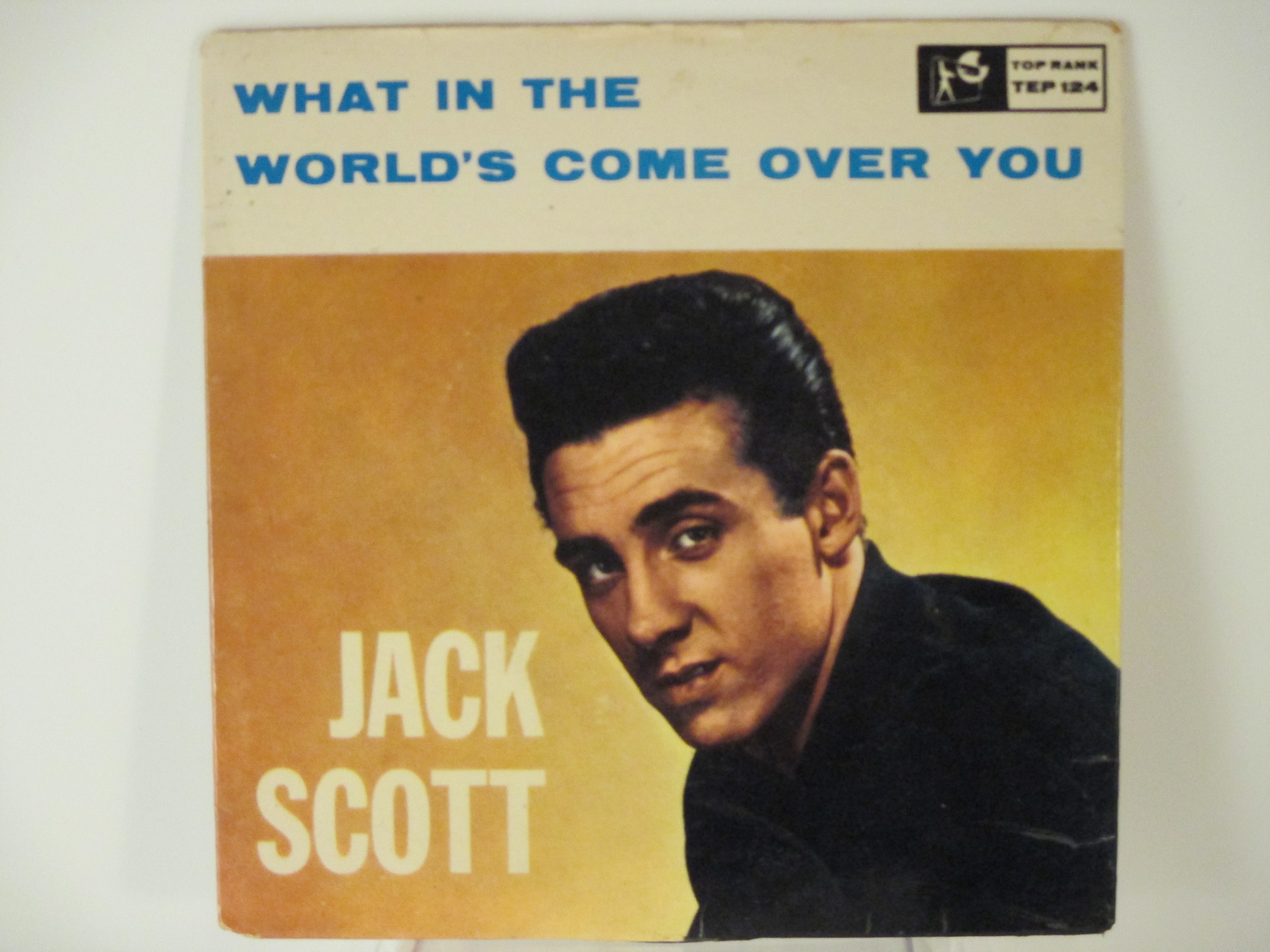 JACK SCOTT : (EP) What in the world's come over you / Baby baby / Oh little one / Burning bridges
