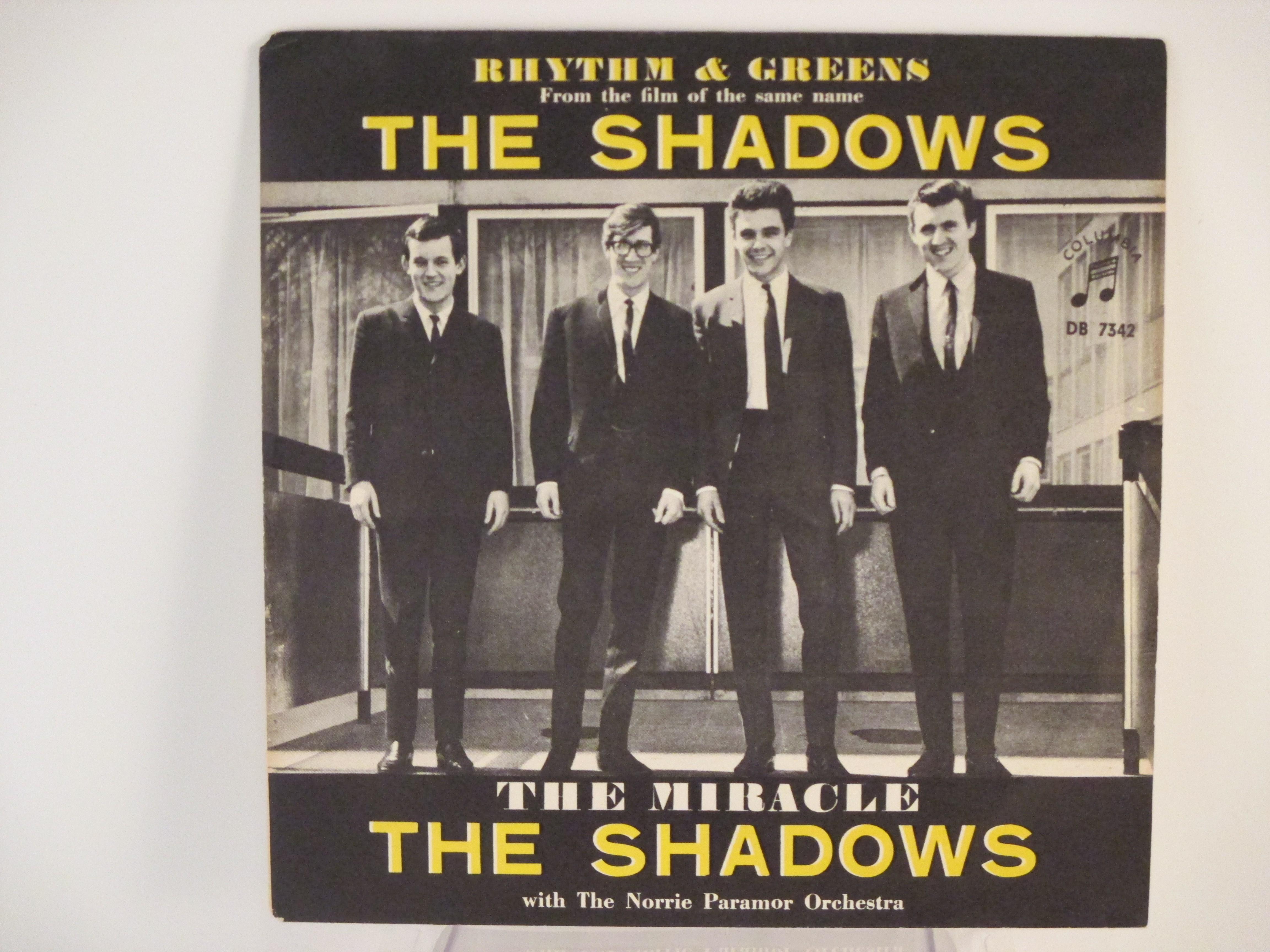 SHADOWS The   : Rhythm & greens / The miracle
