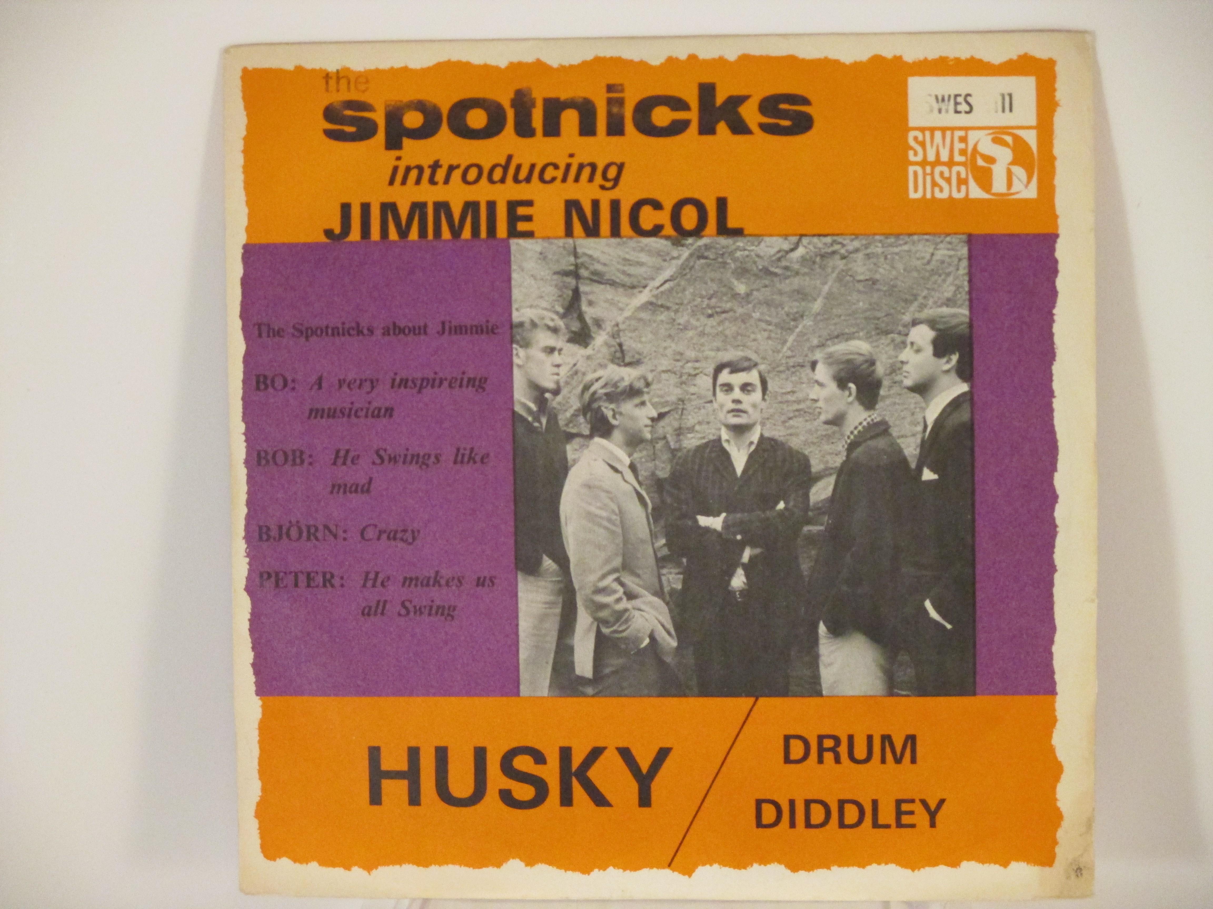 SPOTNICKS : Husky / Drum Diddley