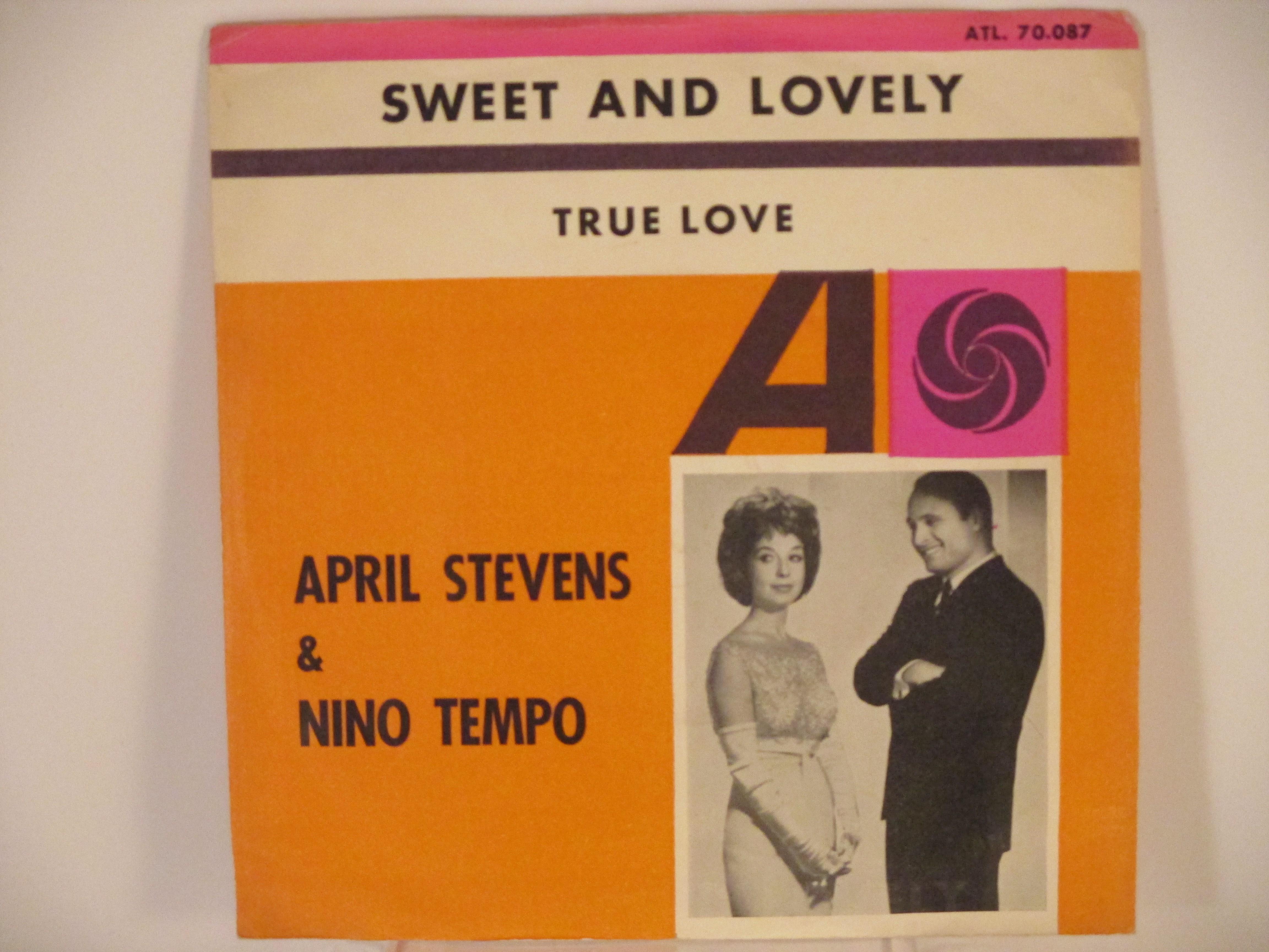 APRIL STEVENS & NINO TEMPO : Sweet and lovely / True love