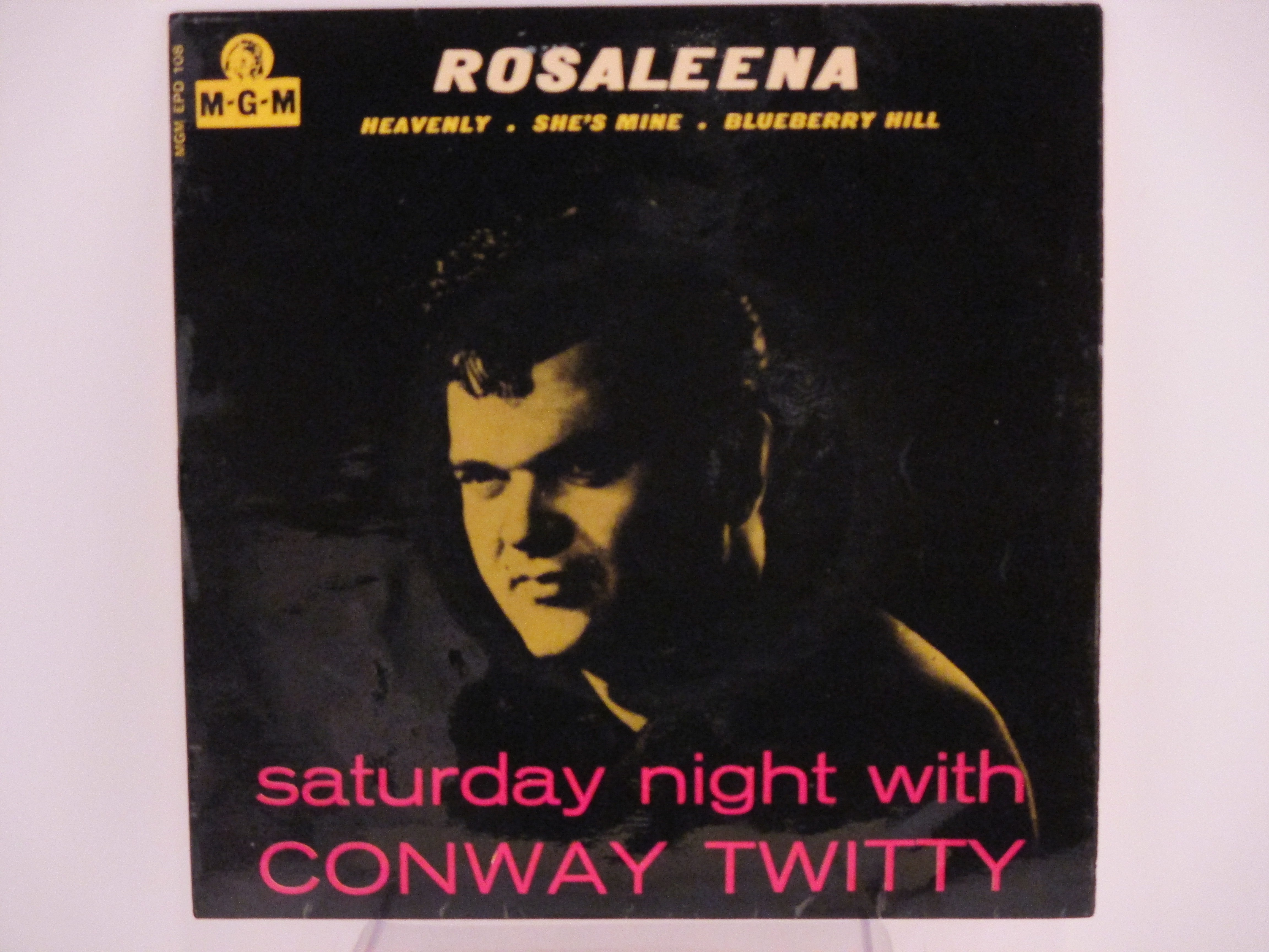 CONWAY TWITTY : Rosaleena / Heavenly / She's mine / Blueberry hill