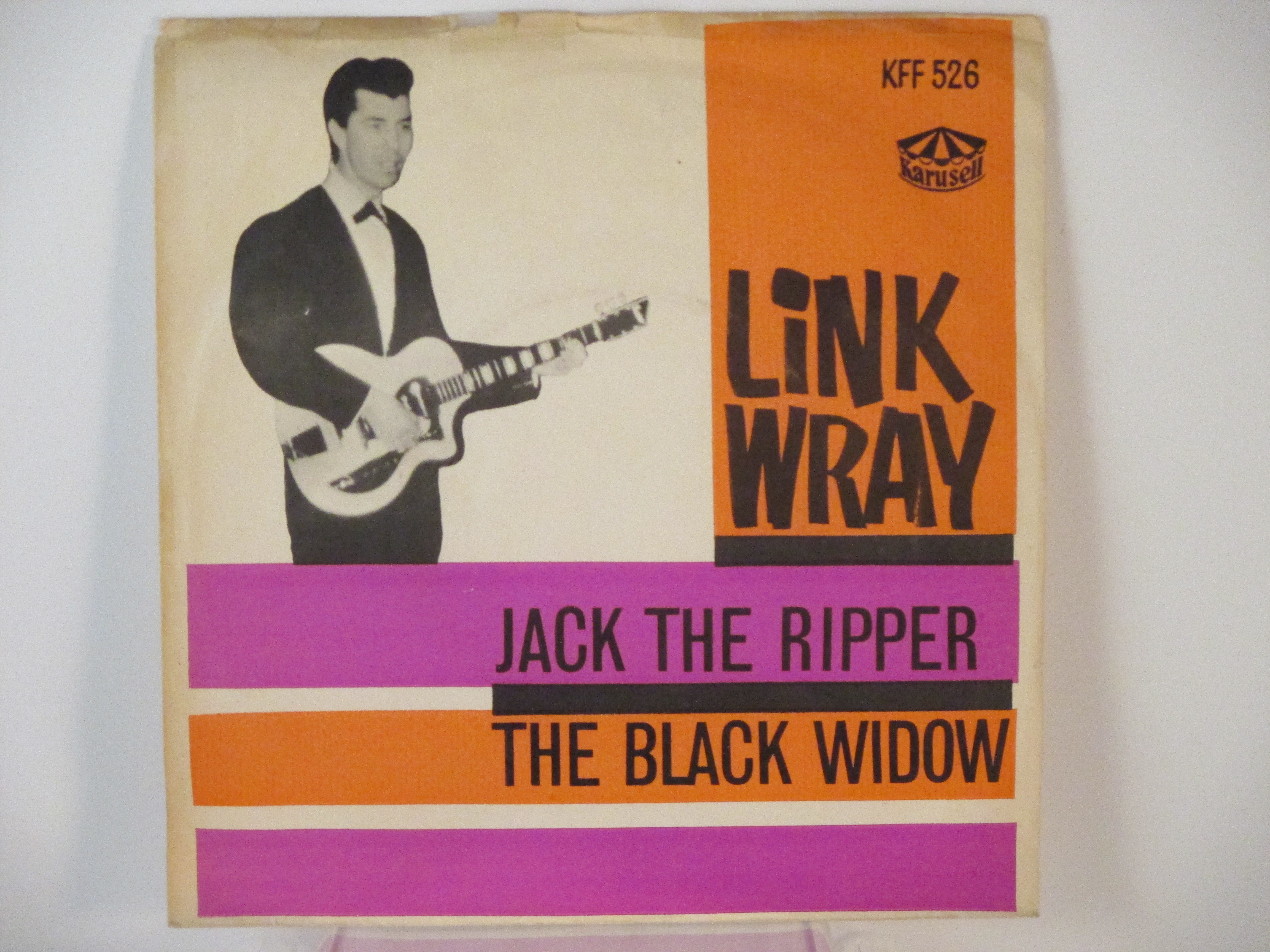 LINK WRAY : Jack the ripper / The black widow