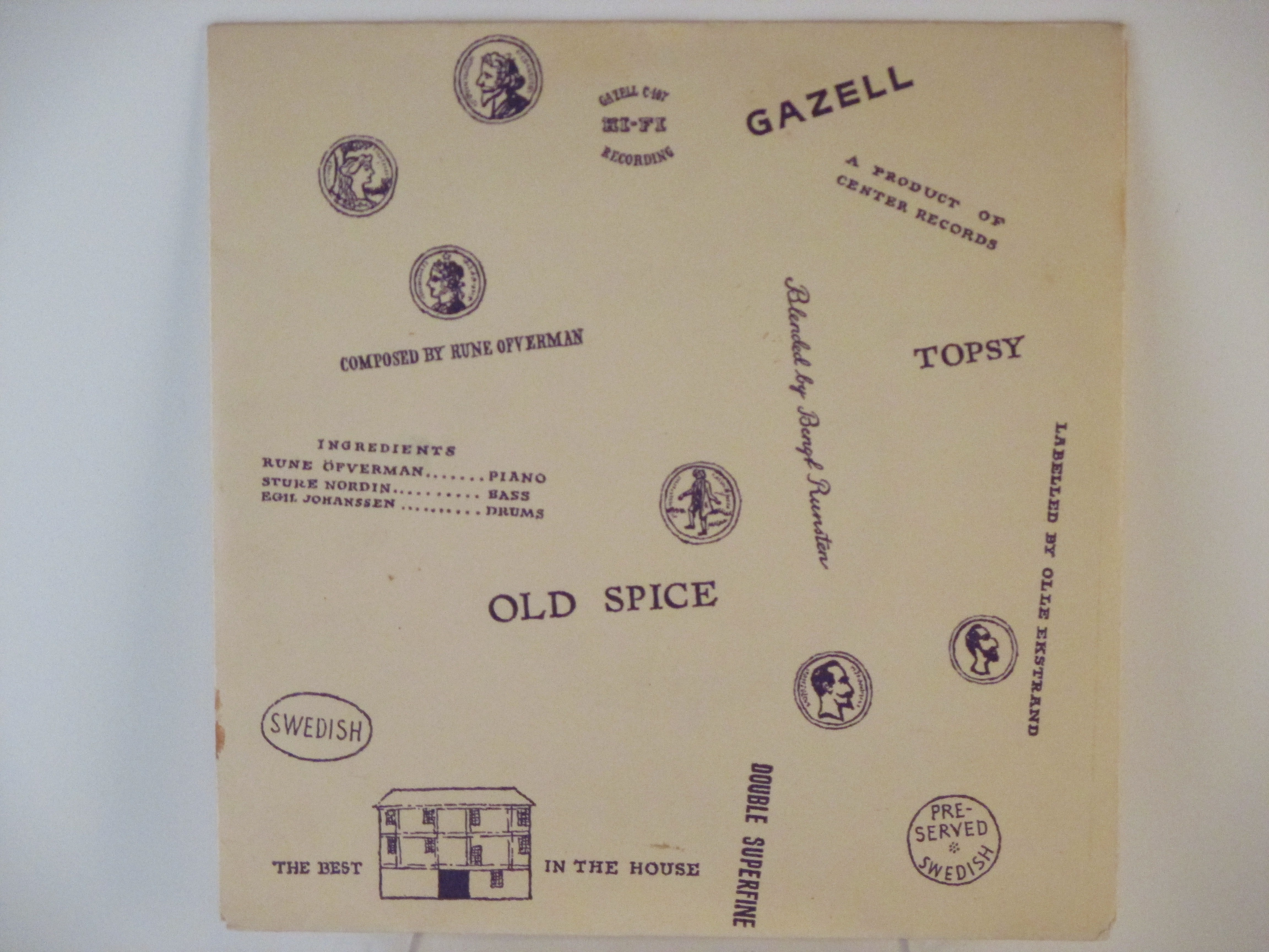RUNE ÖFWERMAN TRIO : Topsy / Old spice