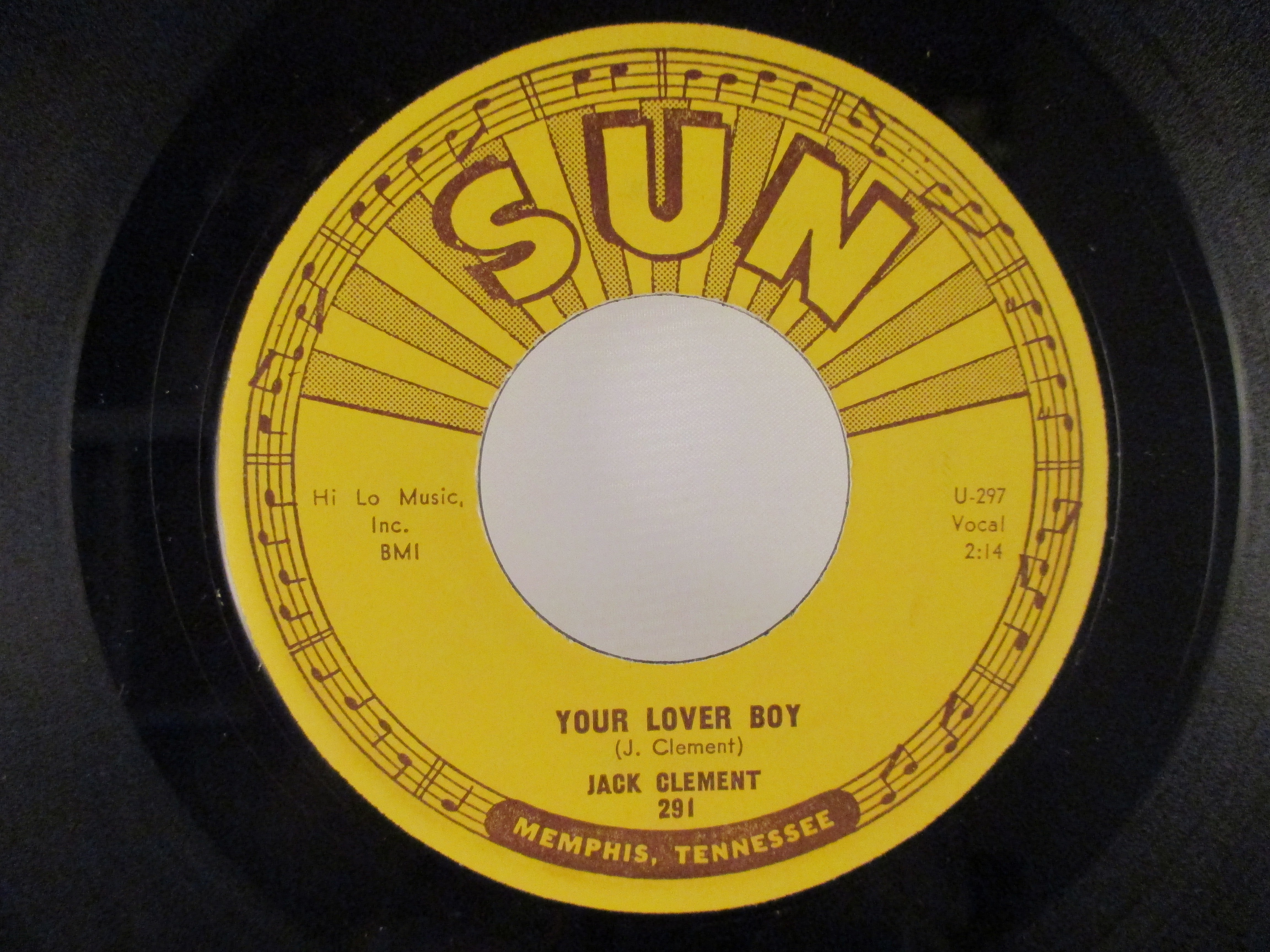 JACK CLEMENT : Your lover boy / Ten years