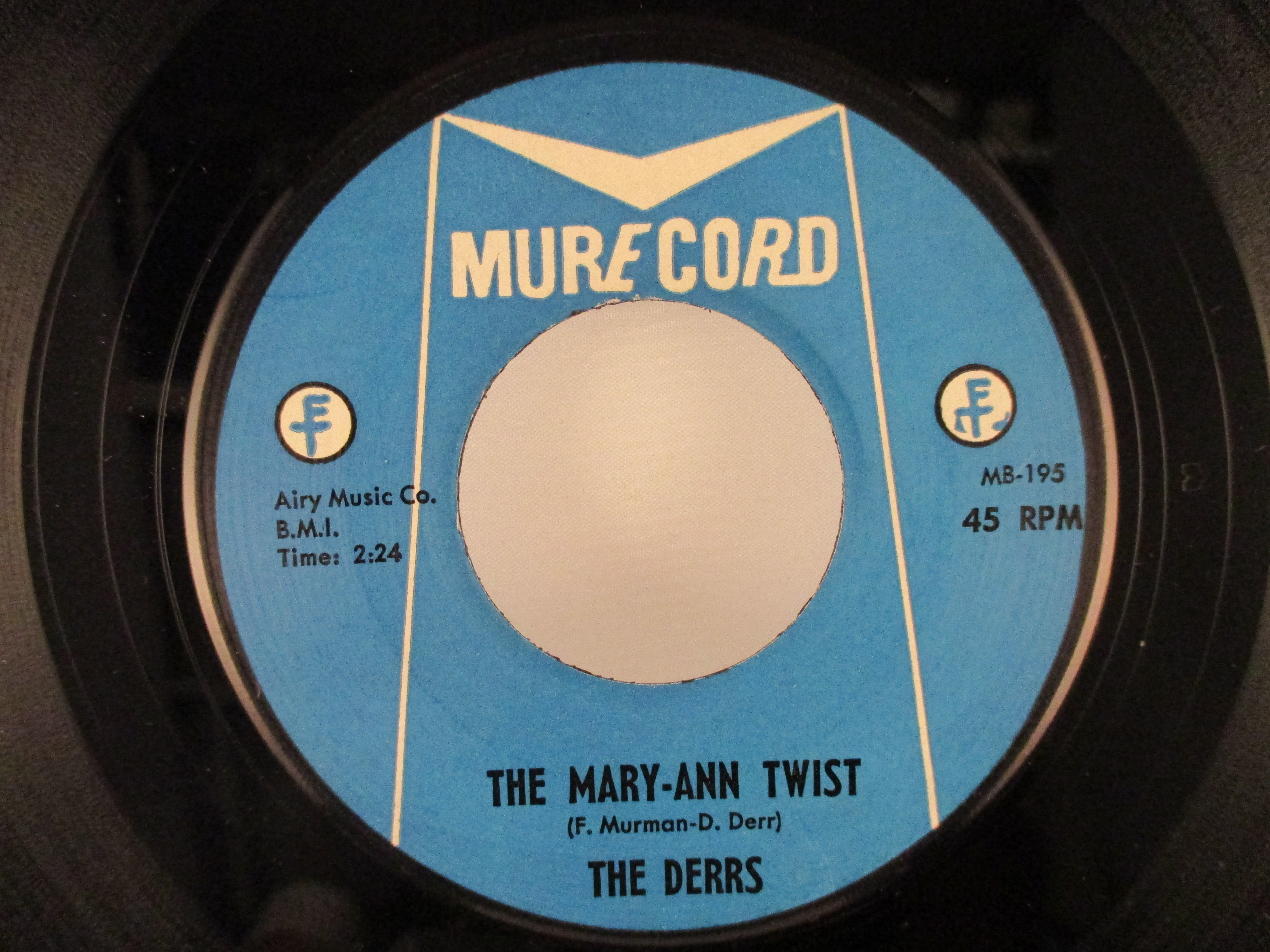 DERRS : The Mary-Ann Twist / The blues come back
