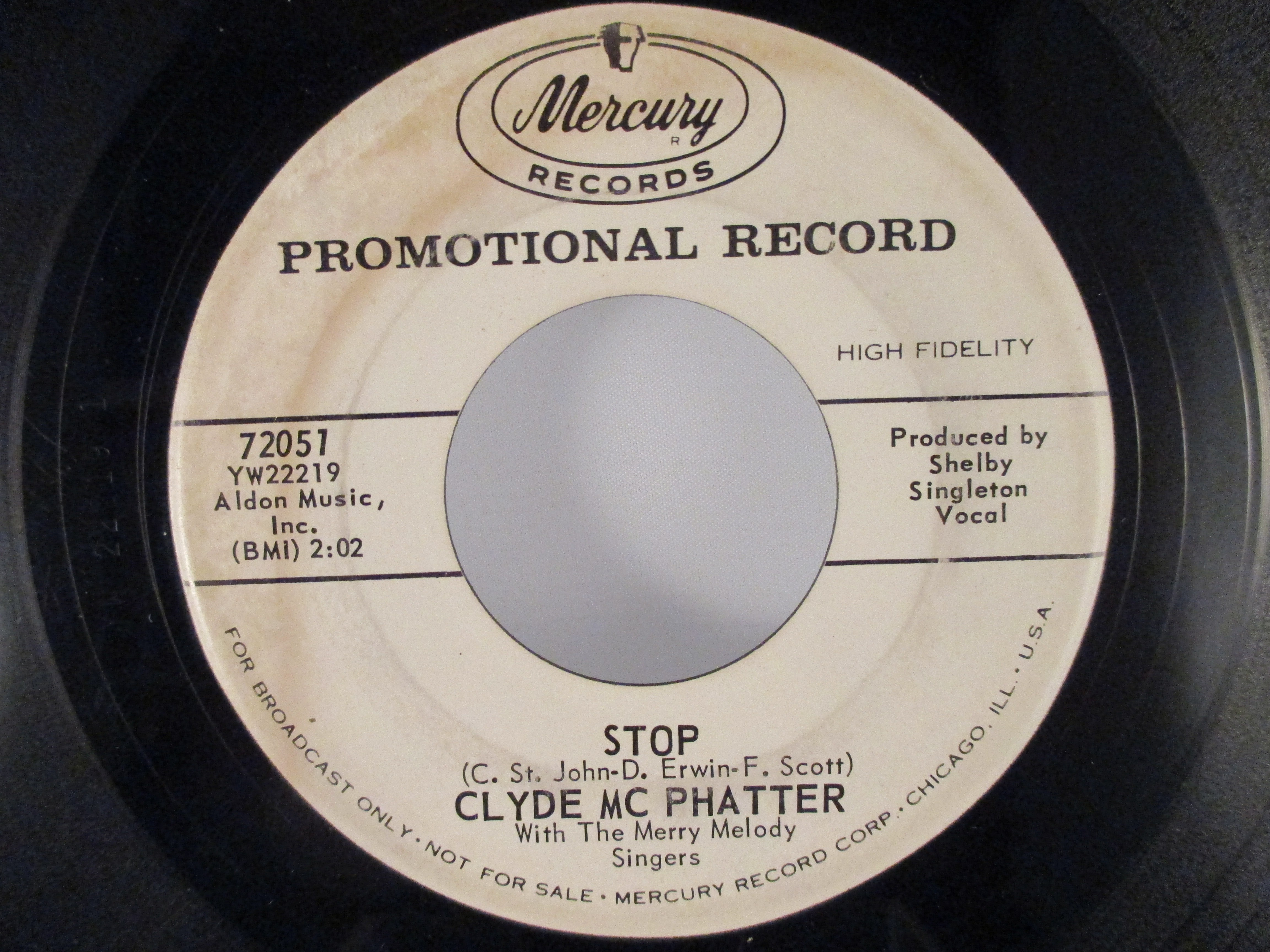 CLYDE Mc PHATTER : Stop / The best man cried