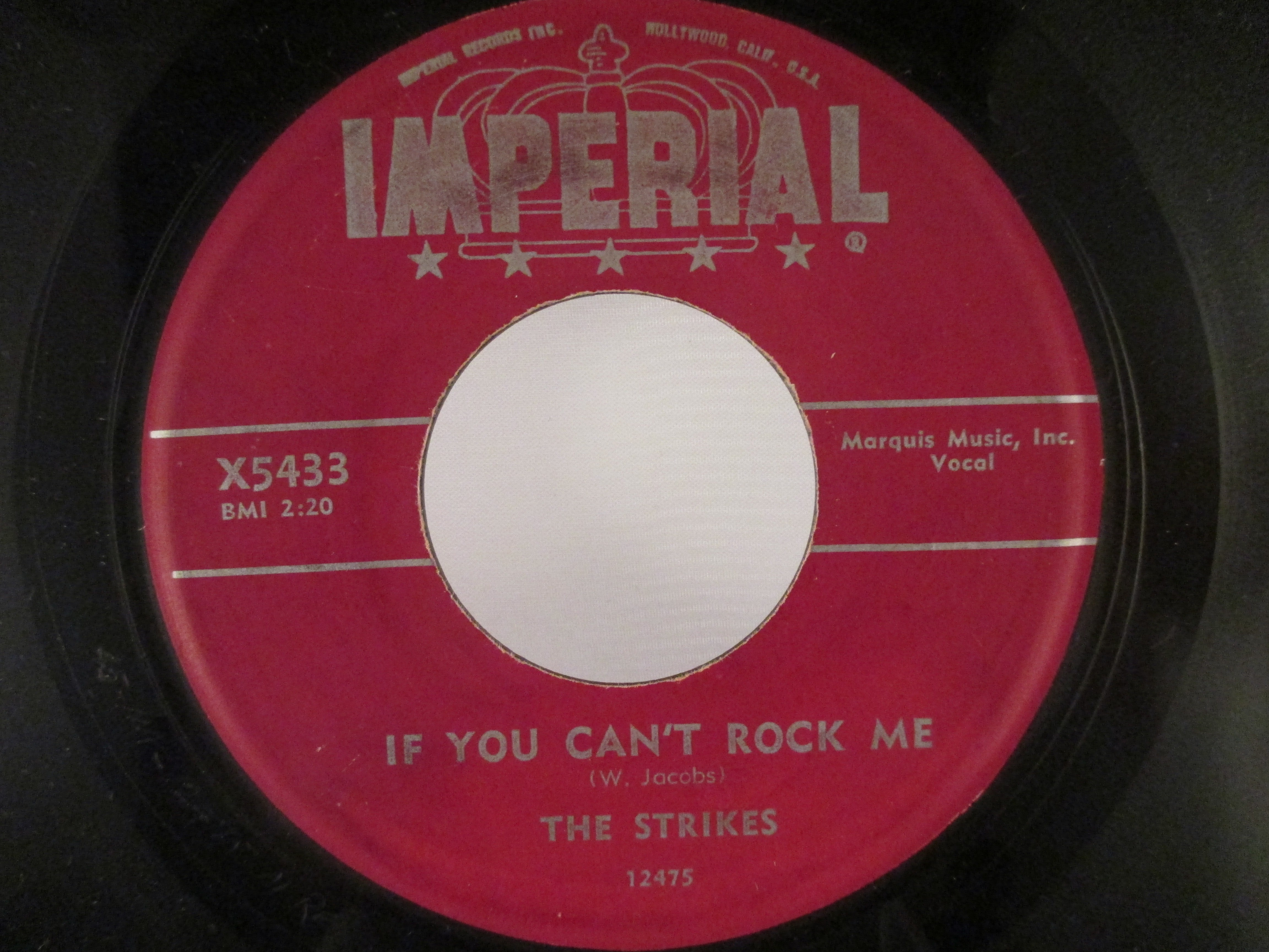 STRIKES : If you can't rock me / Baby I'm sorry