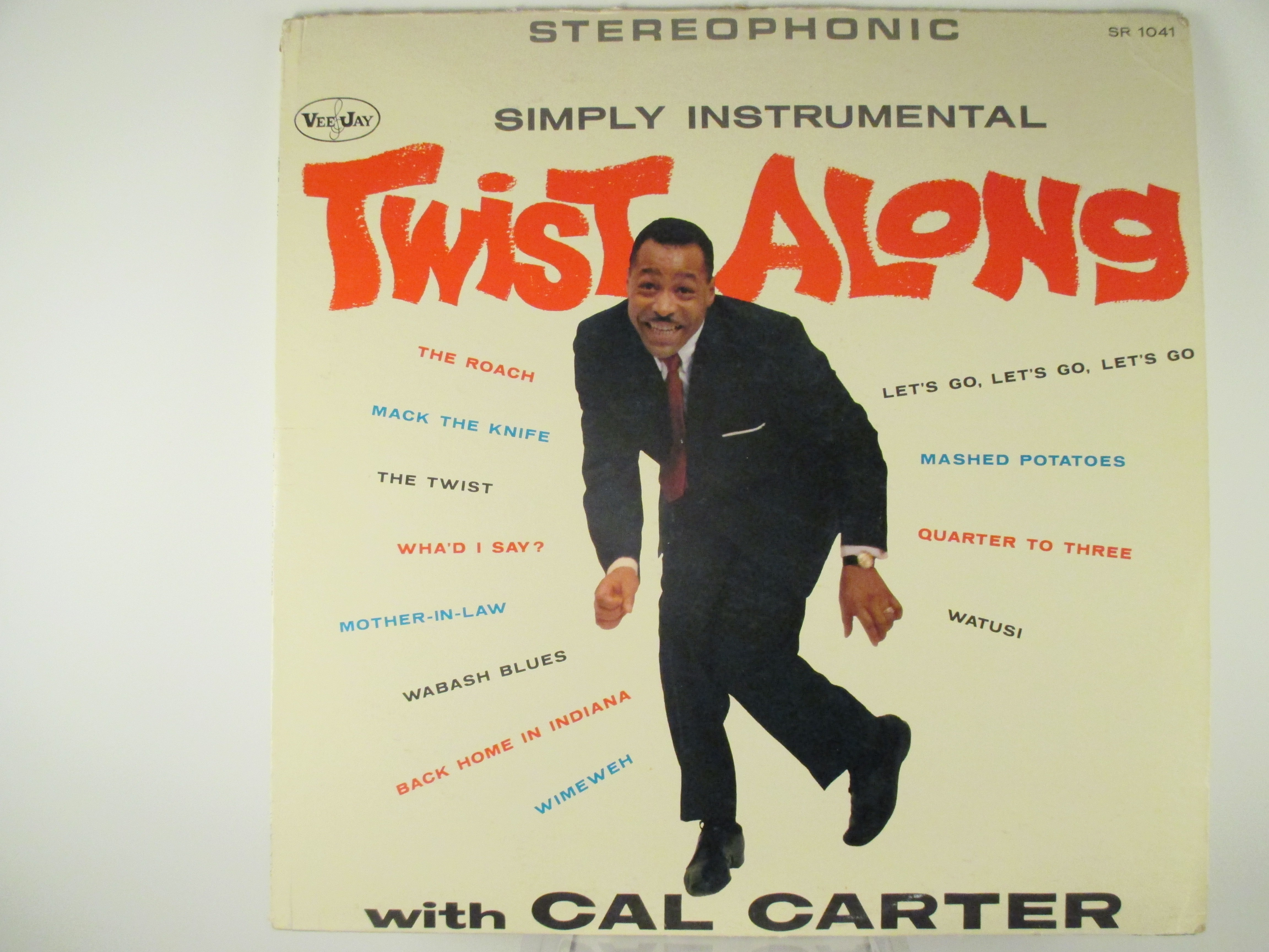 "CAL CARTER : ""Twist along"""