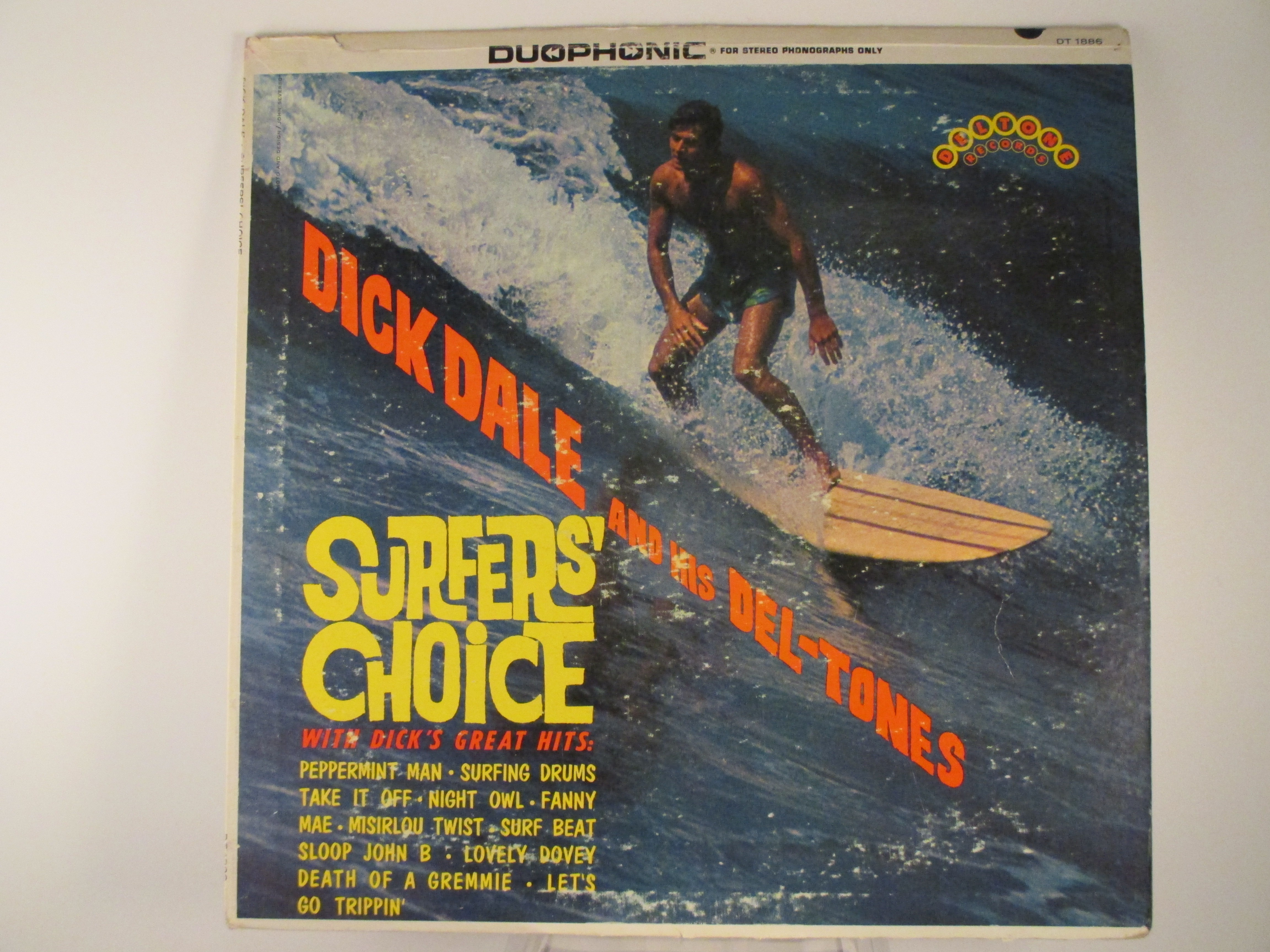 "DICK  DALE  &  DEL-TONES   :   ""Surfer's choice"""