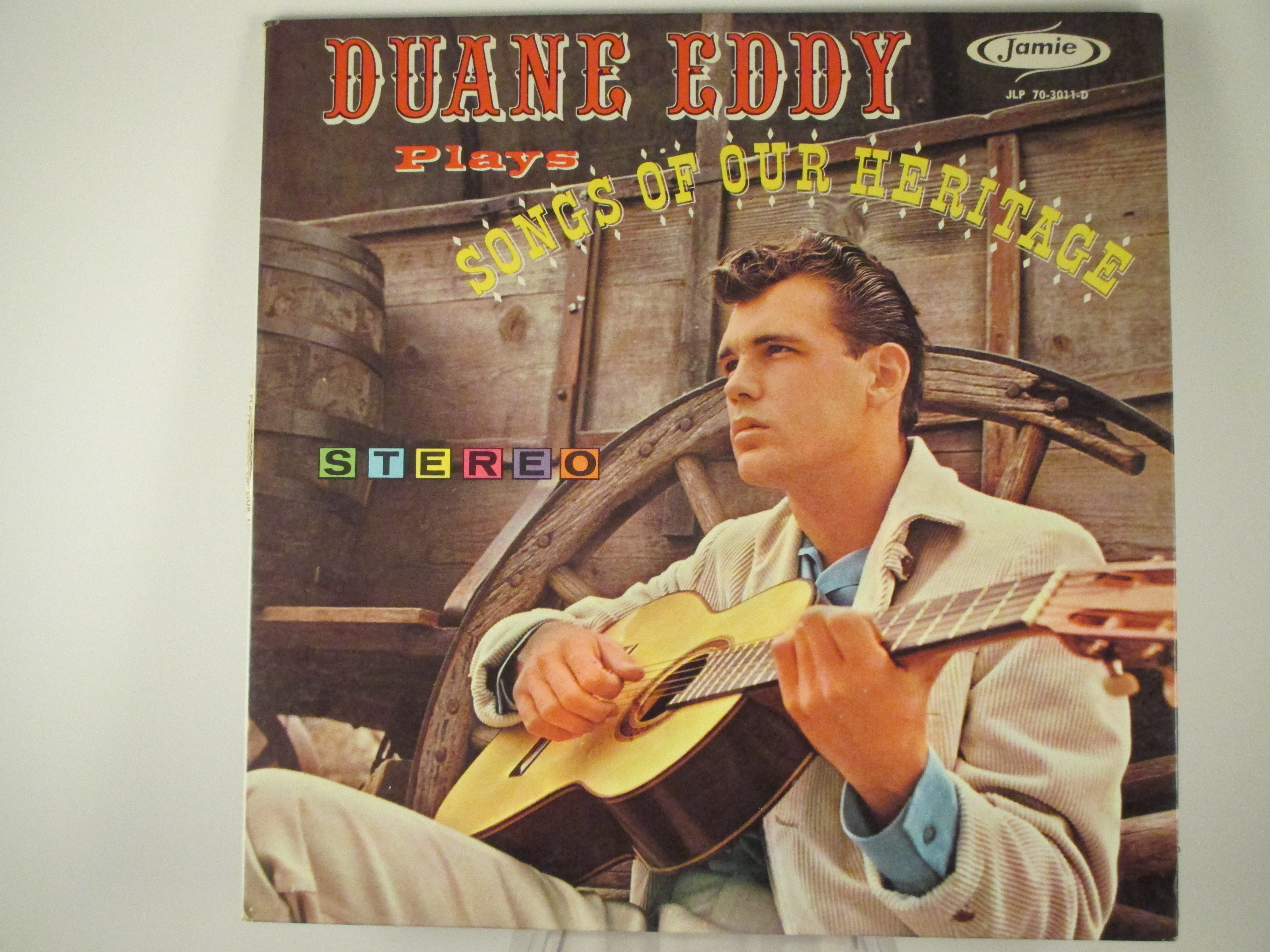 """DUANE EDDY : """"Duane Eddy plays songs from our heritage"""""""