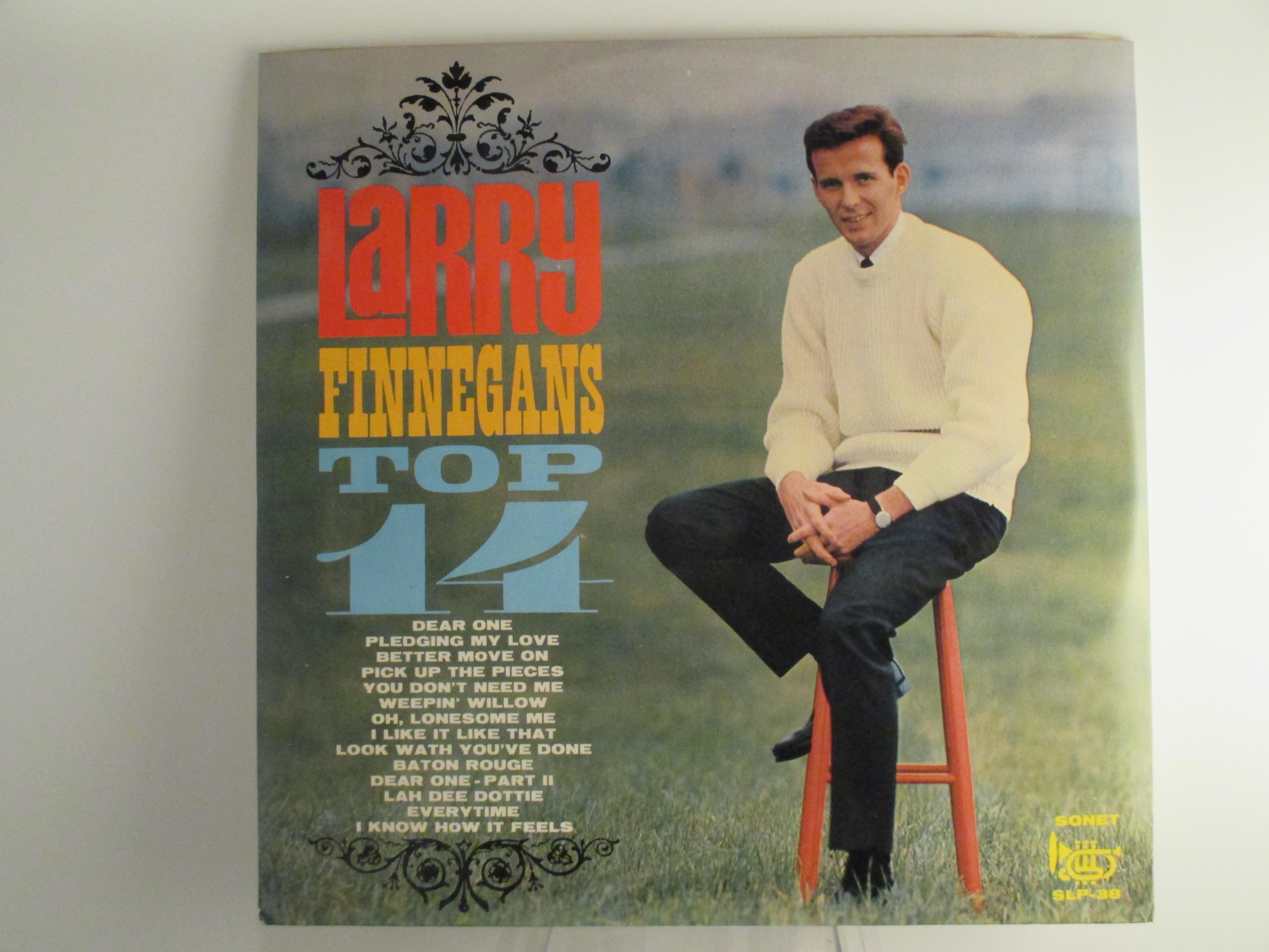 """LARRY FINNEGAN : """"Larry Finnegan's Top 14"""""""