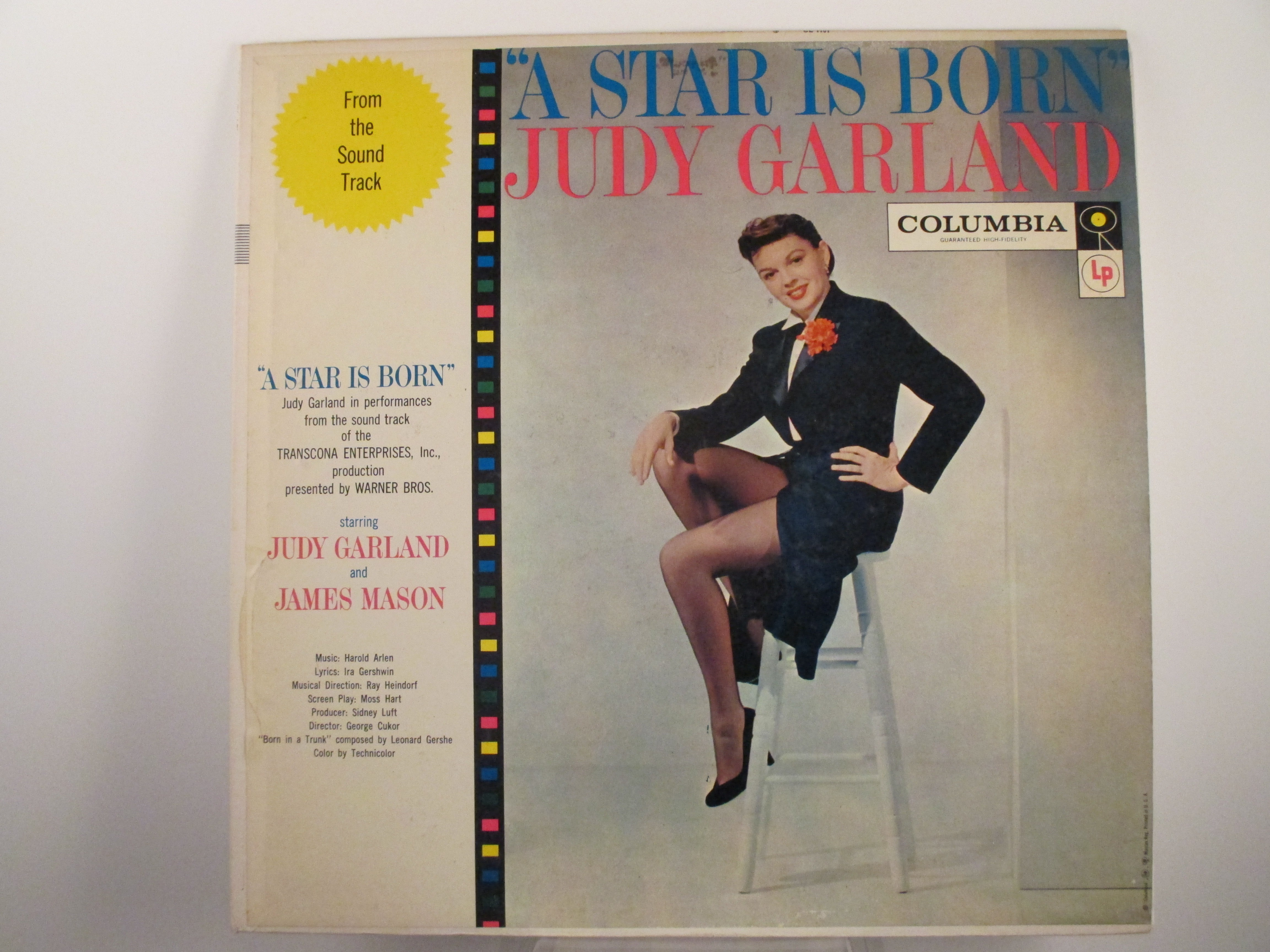"JUDY GARLAND : ""A star is born"""