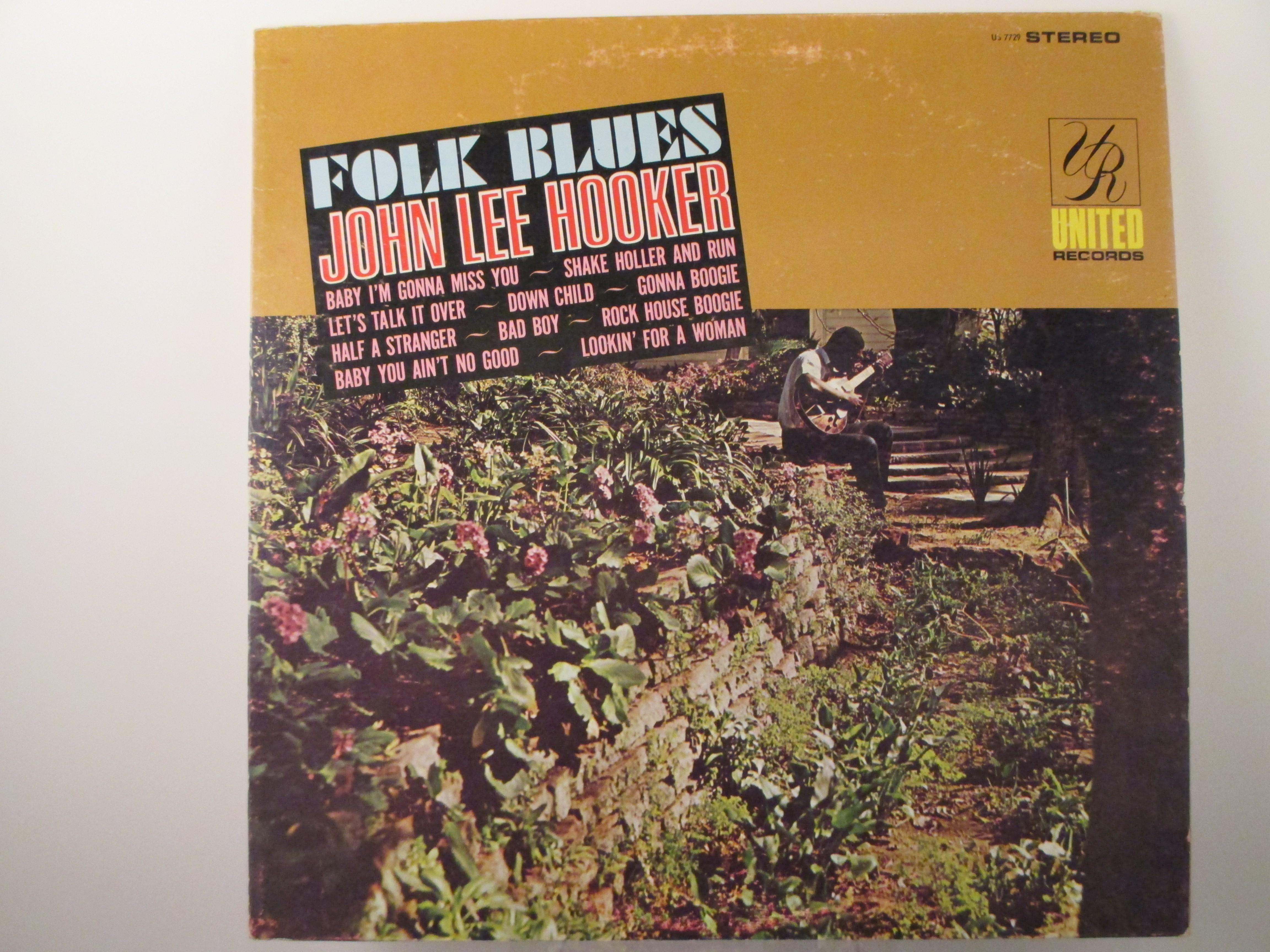 """JOHN LEE HOOKER : """"Folk blues"""""""