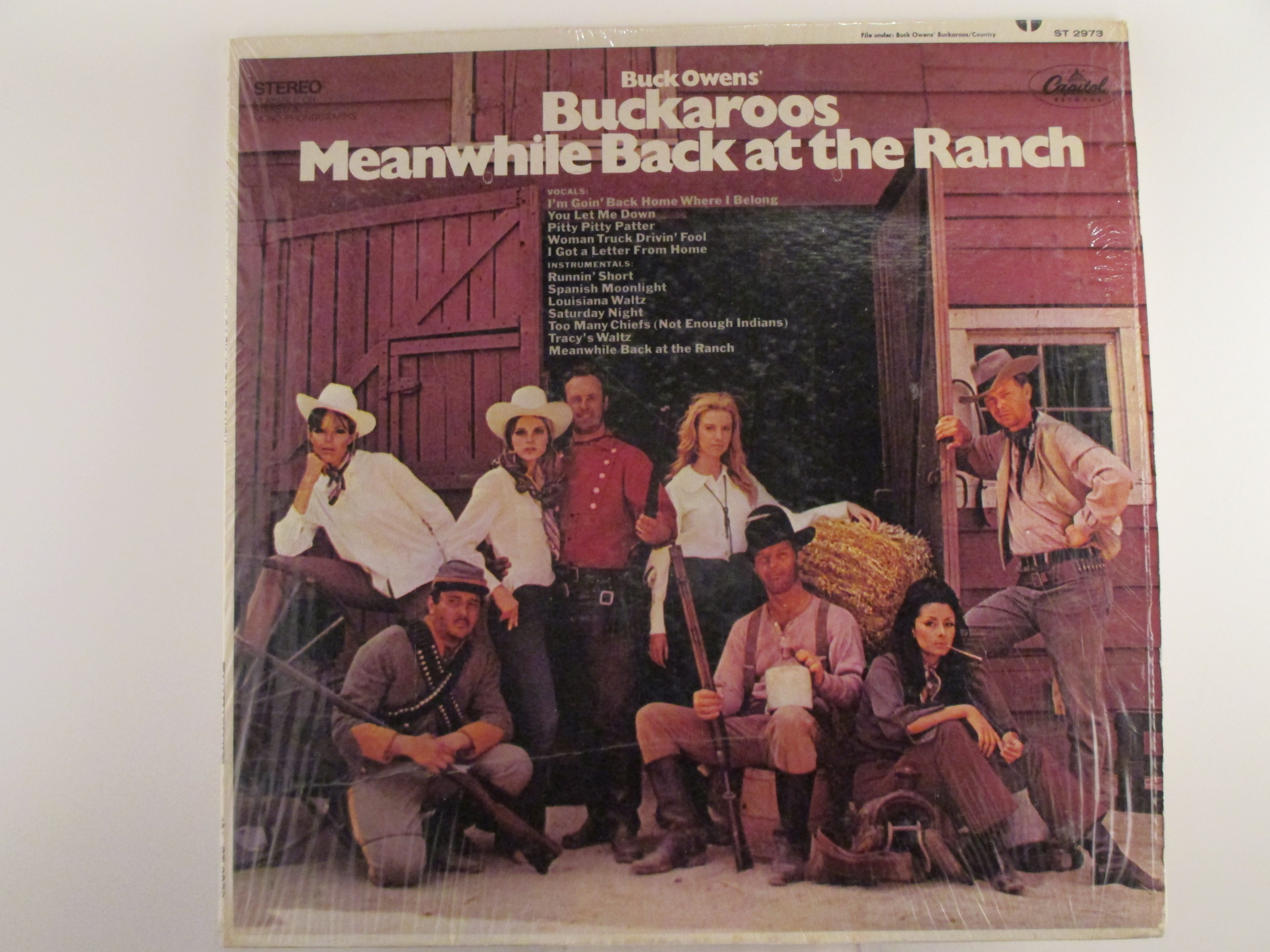 "BUCK OWENS'S  BUCKAROOS : ""Meanwhile back at the ranch"""