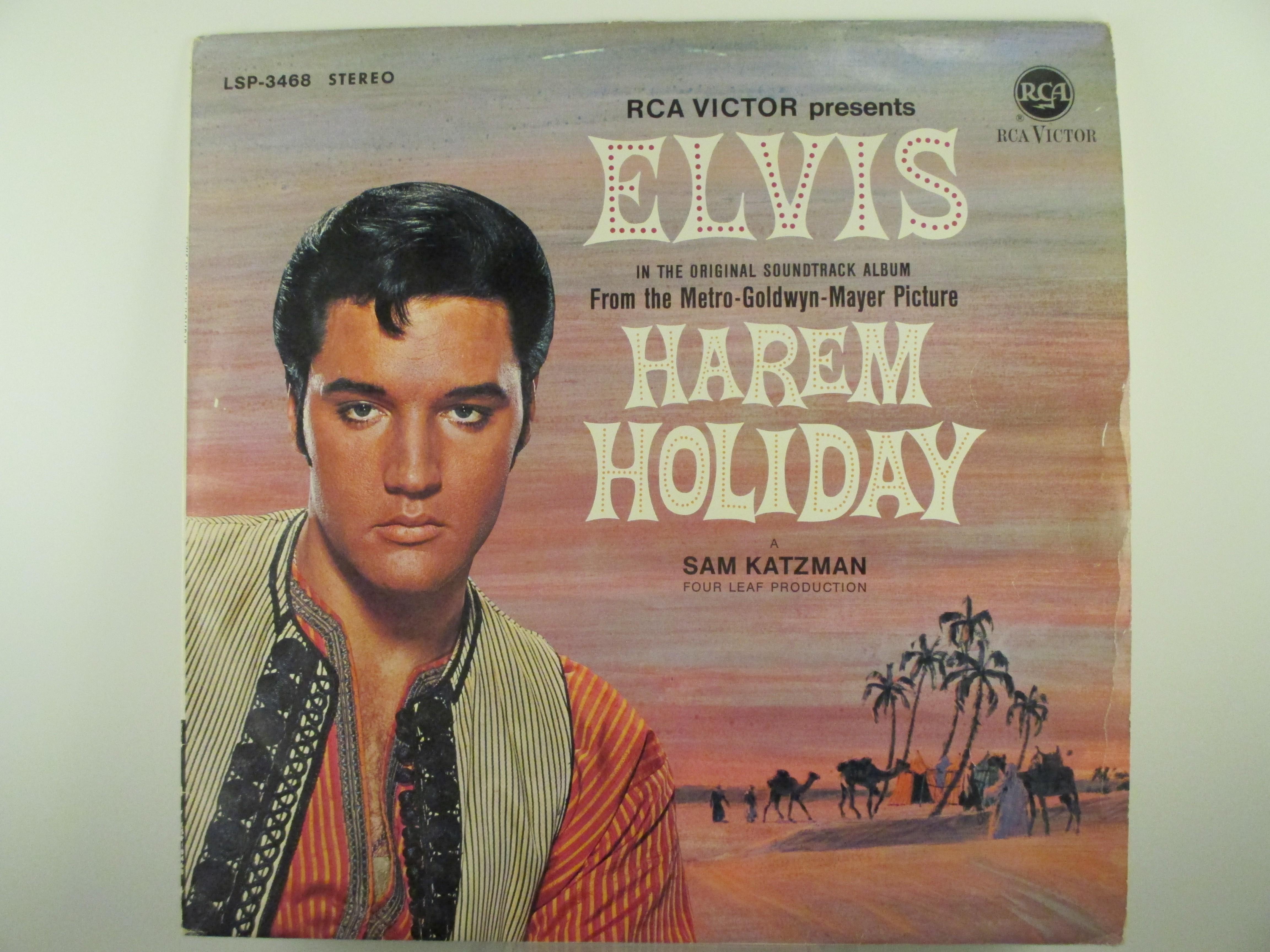 """ELVIS PRESLEY : """"Harem holiday"""""""