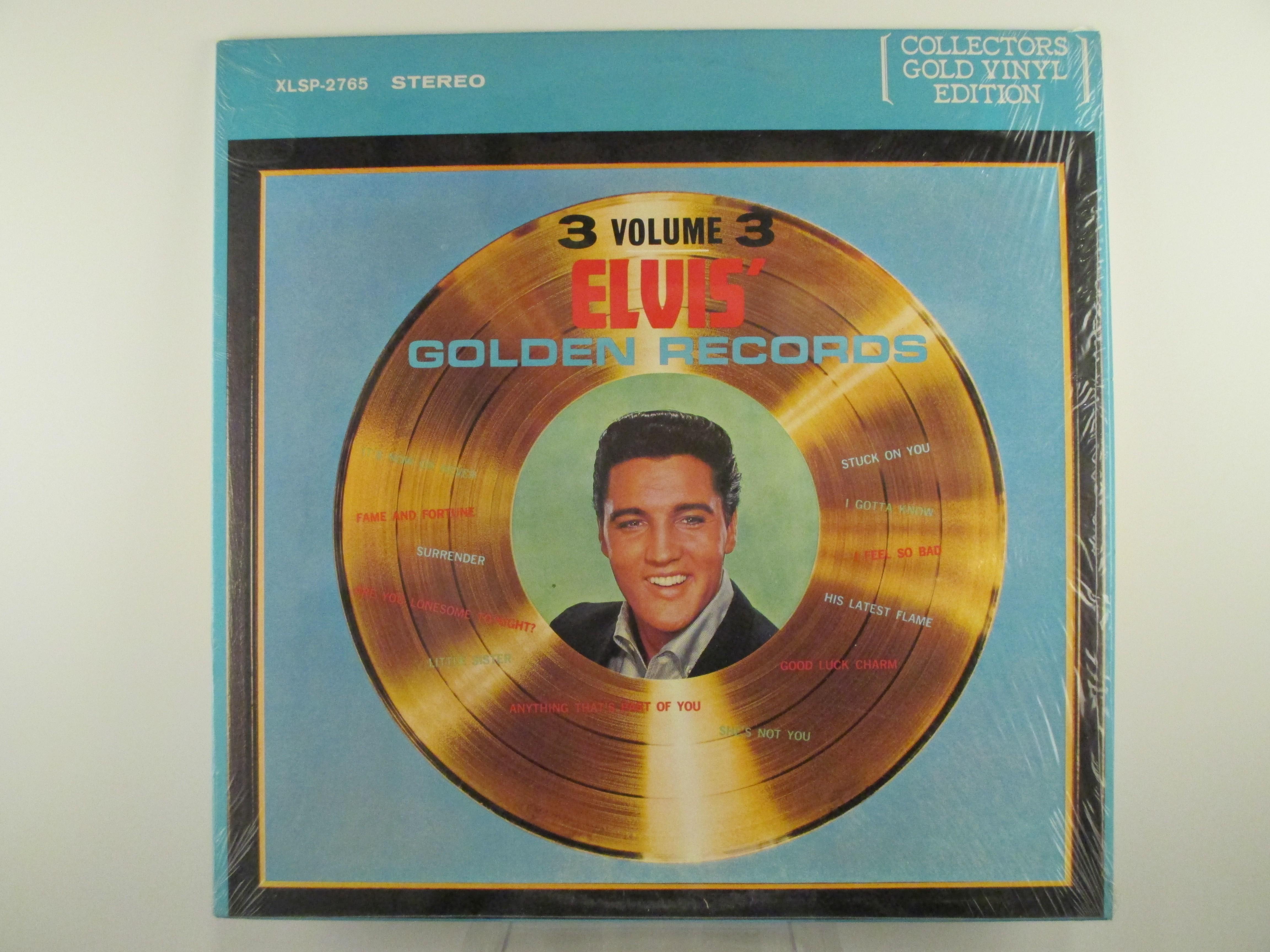 "ELVIS PRESLEY : ""Golden records Vol 3"""