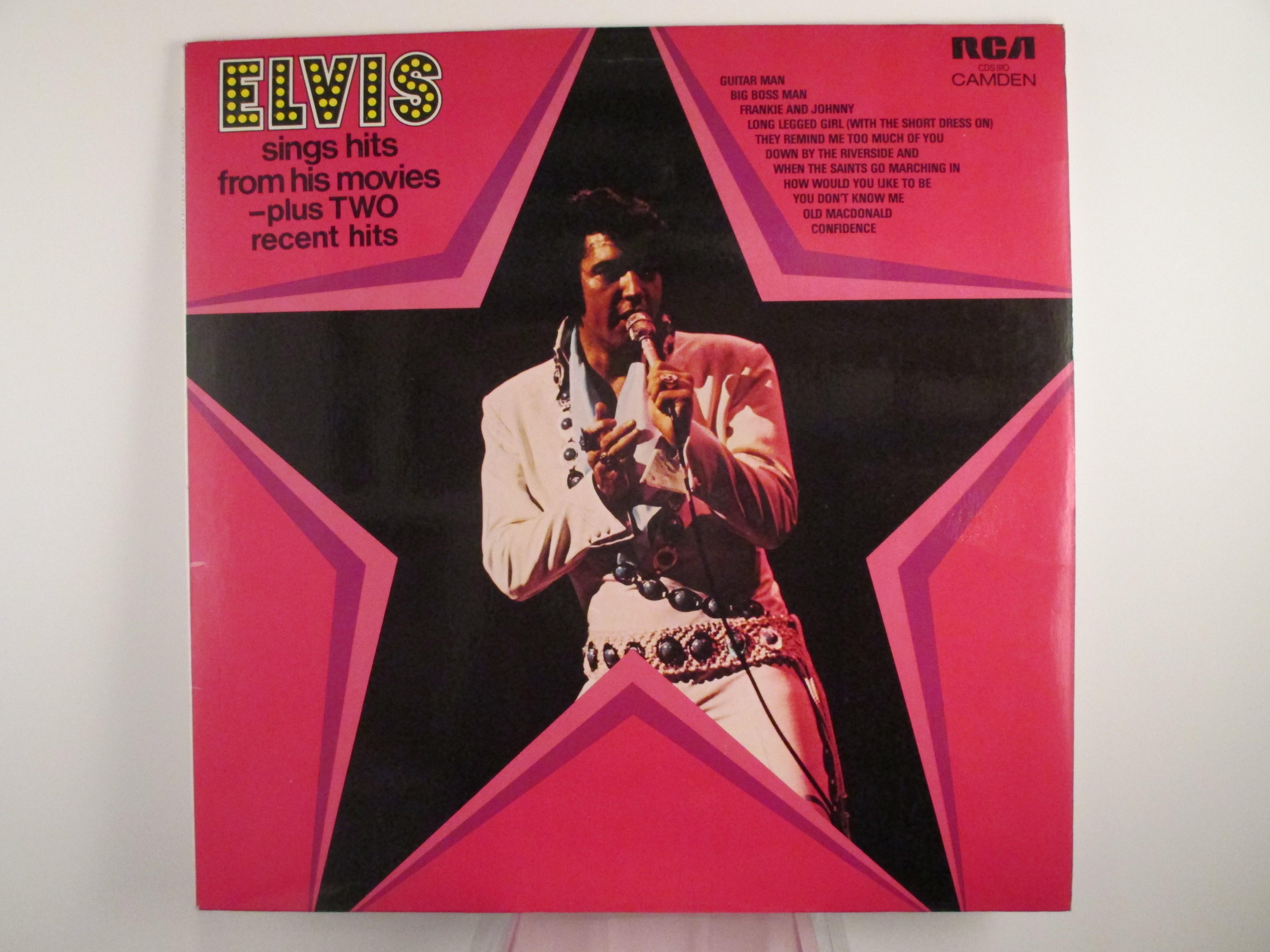 """ELVIS PRESLEY : """"Elvis sings hits from his movies"""""""