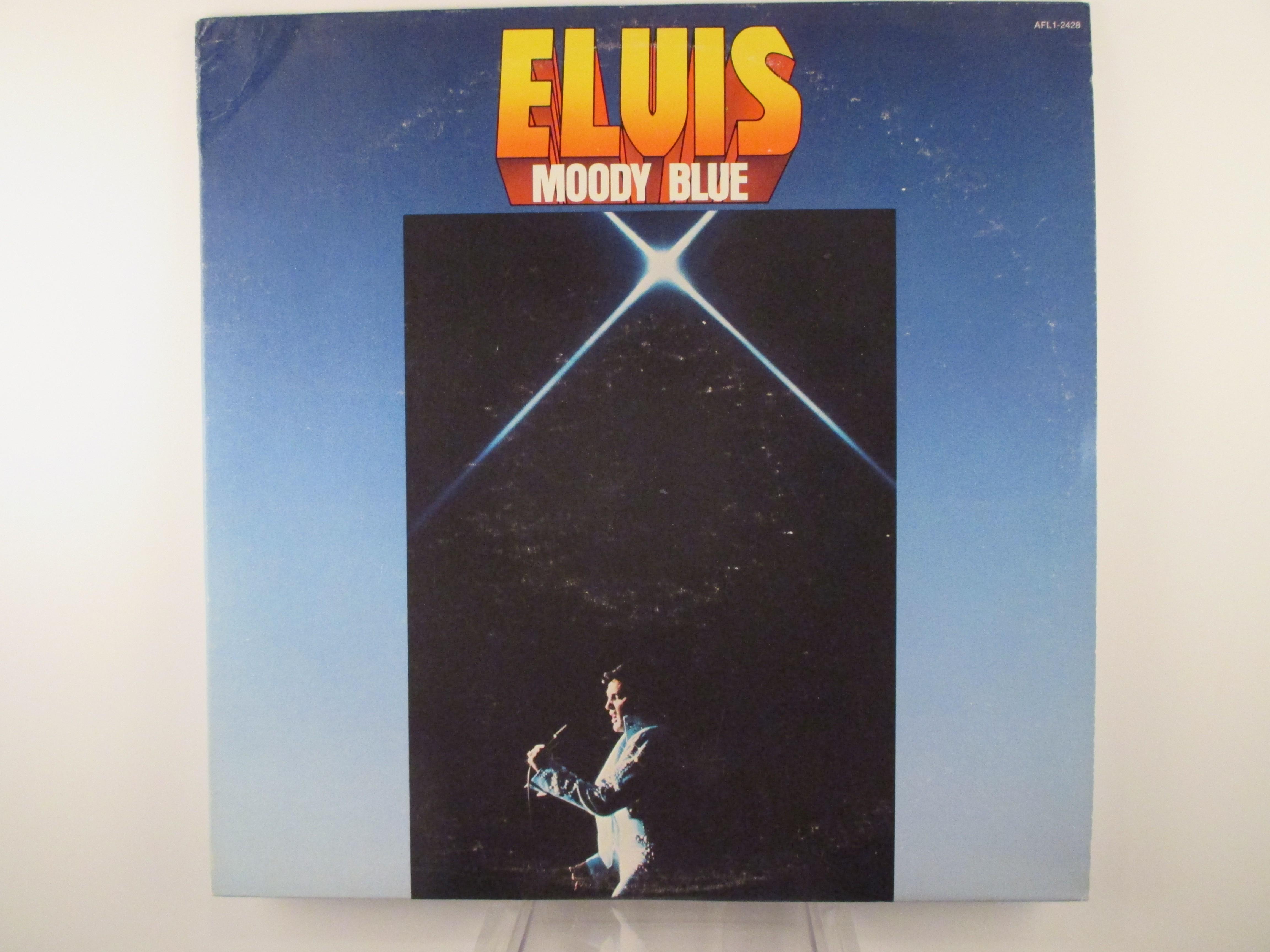 """ELVIS PRESLEY : """"Moody blue"""""""