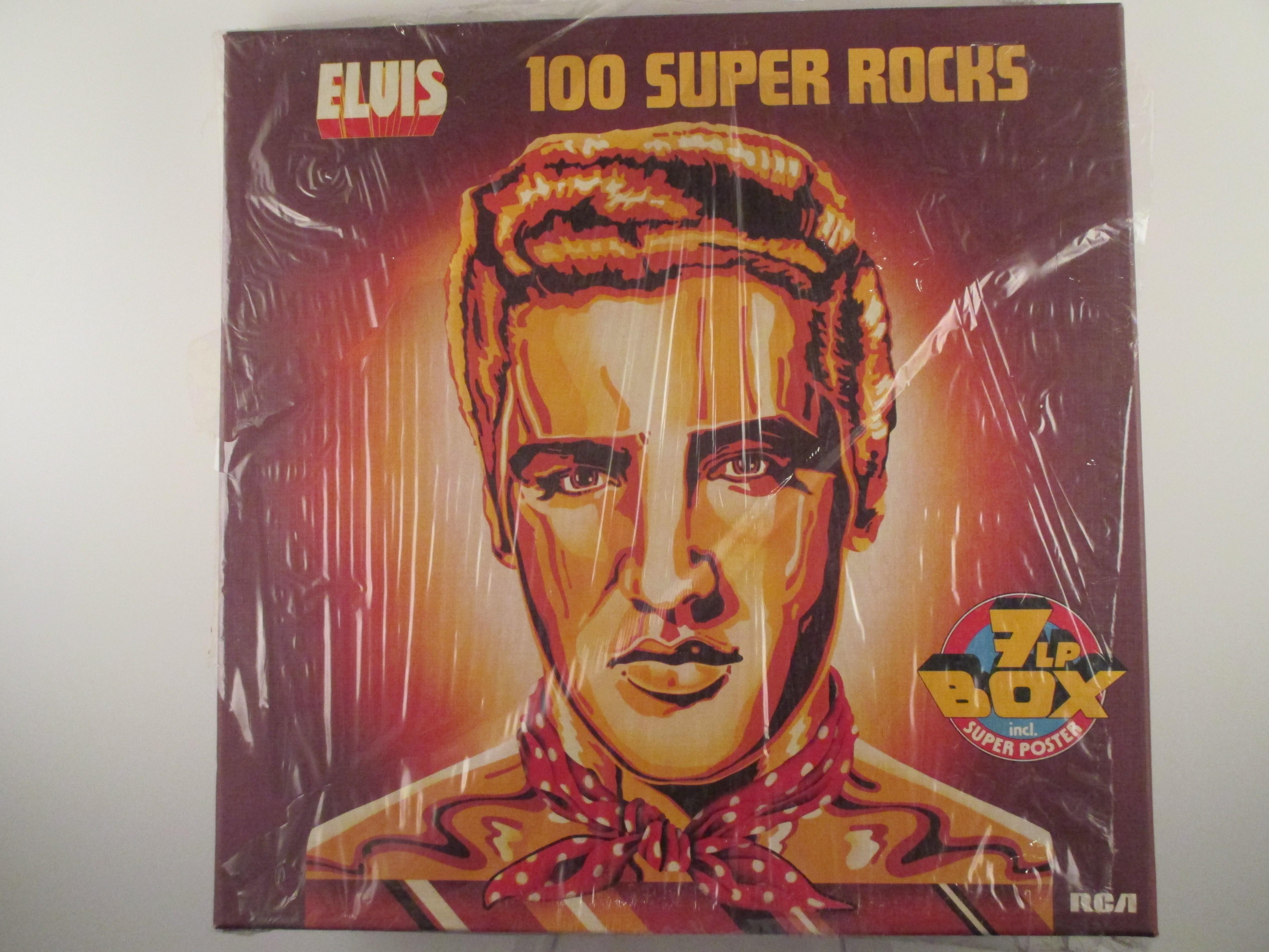 "ELVIS PRESLEY : ""100 super rocks"""