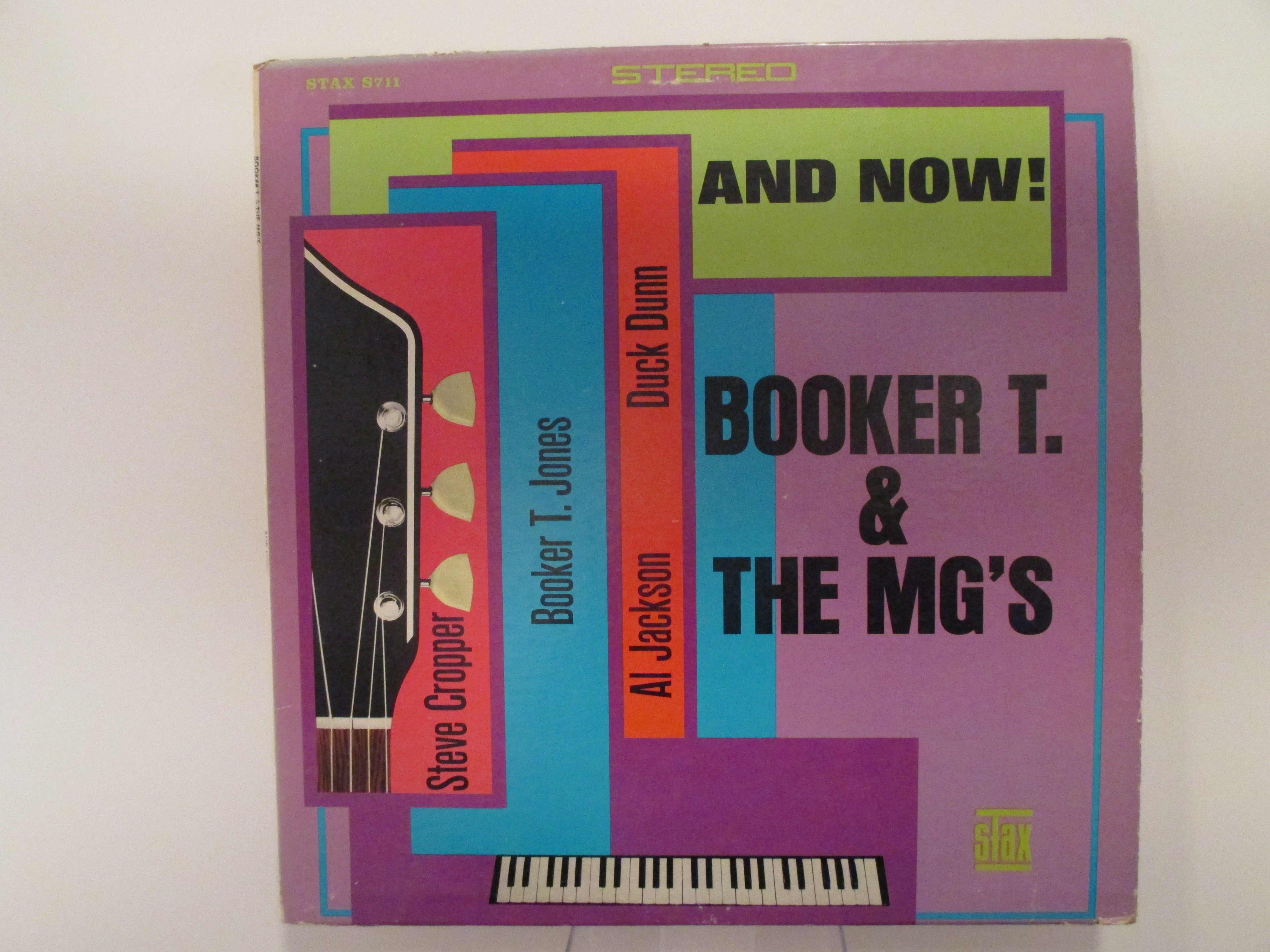 """BOOKER T. & MG's : """"And now!"""""""