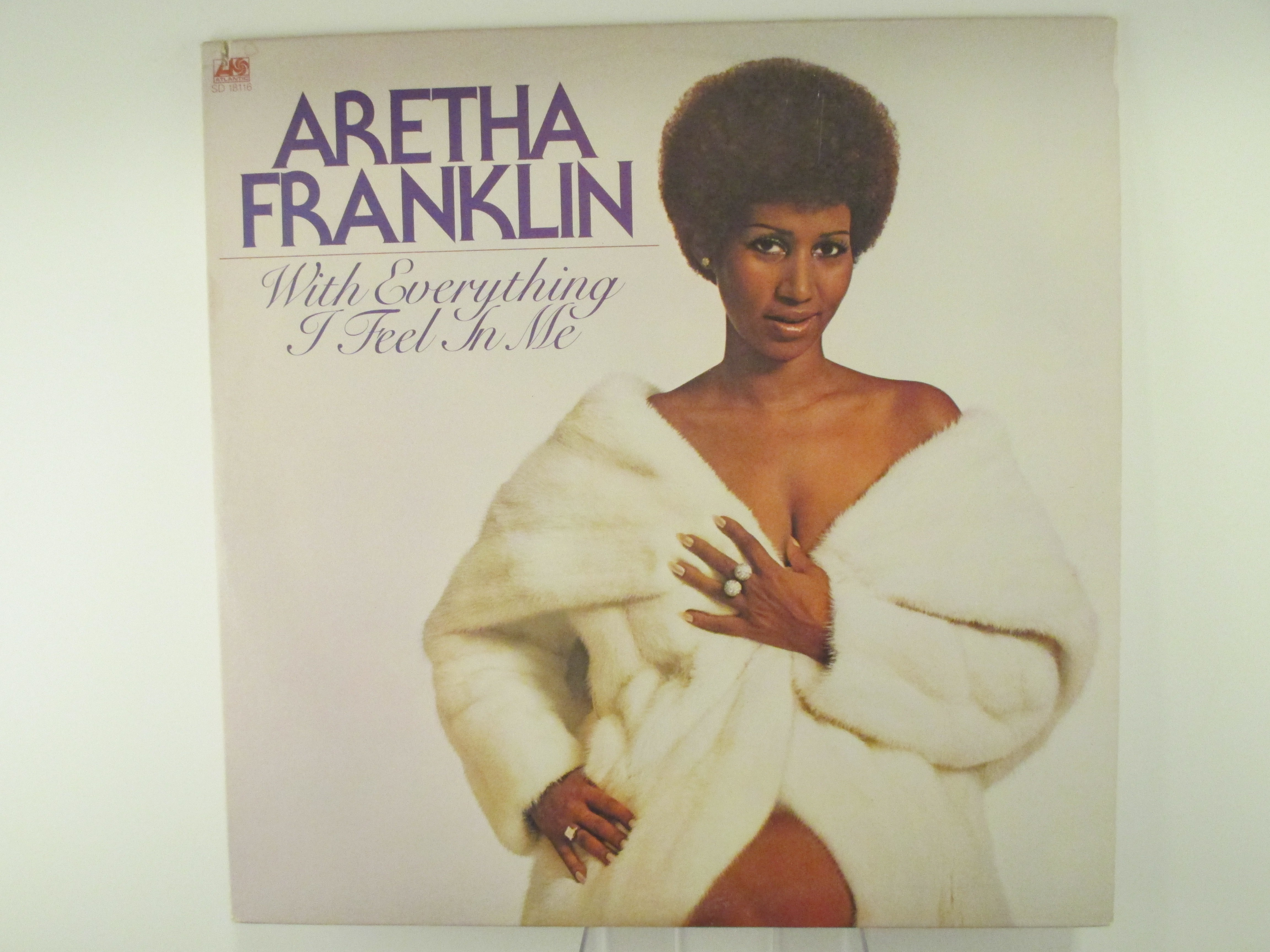 """ARETHA FRANKLIN : """"With everything I feel in me"""""""