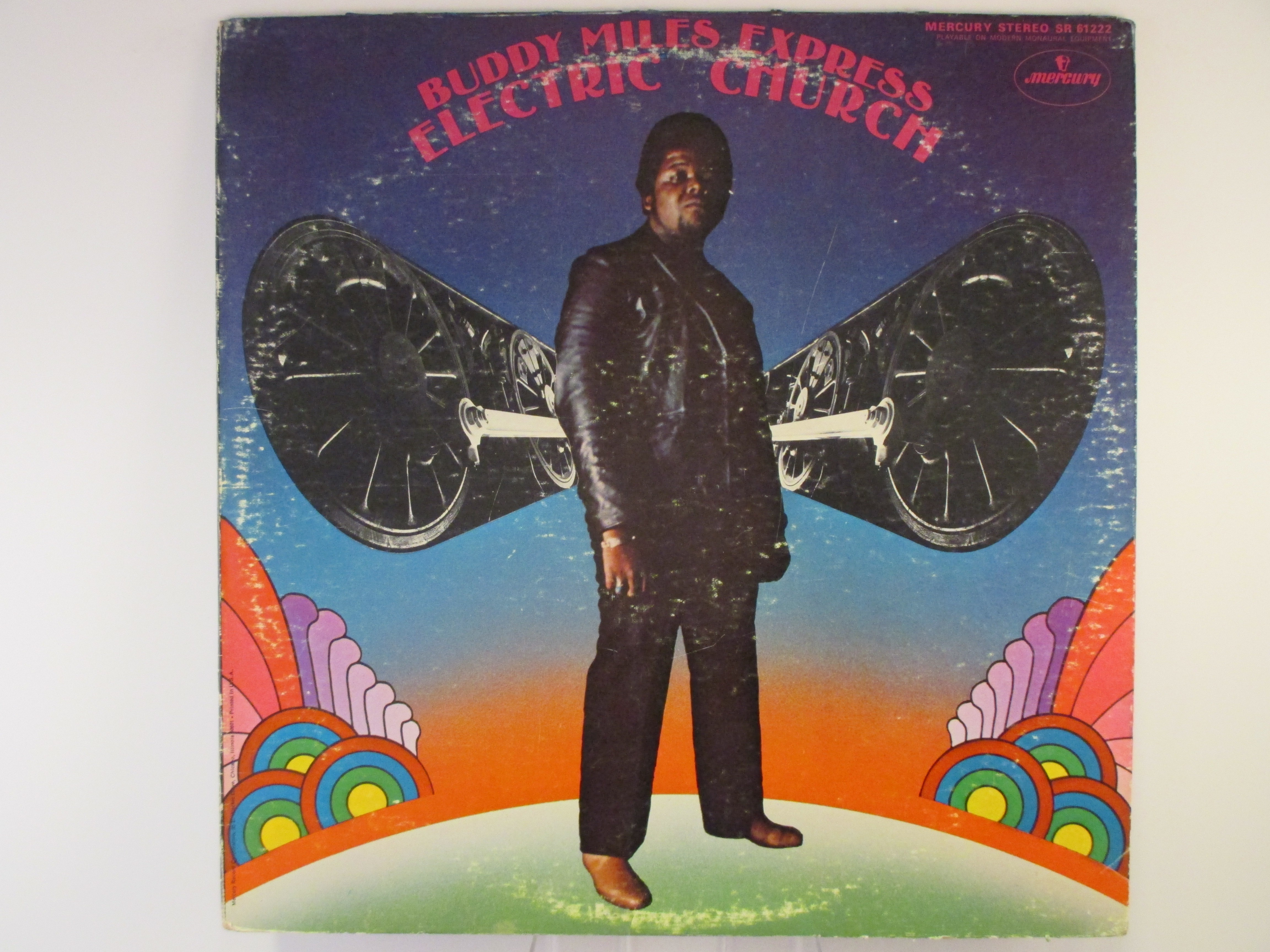 "BUDDY MILES EXPRESS : ""Electric church"""