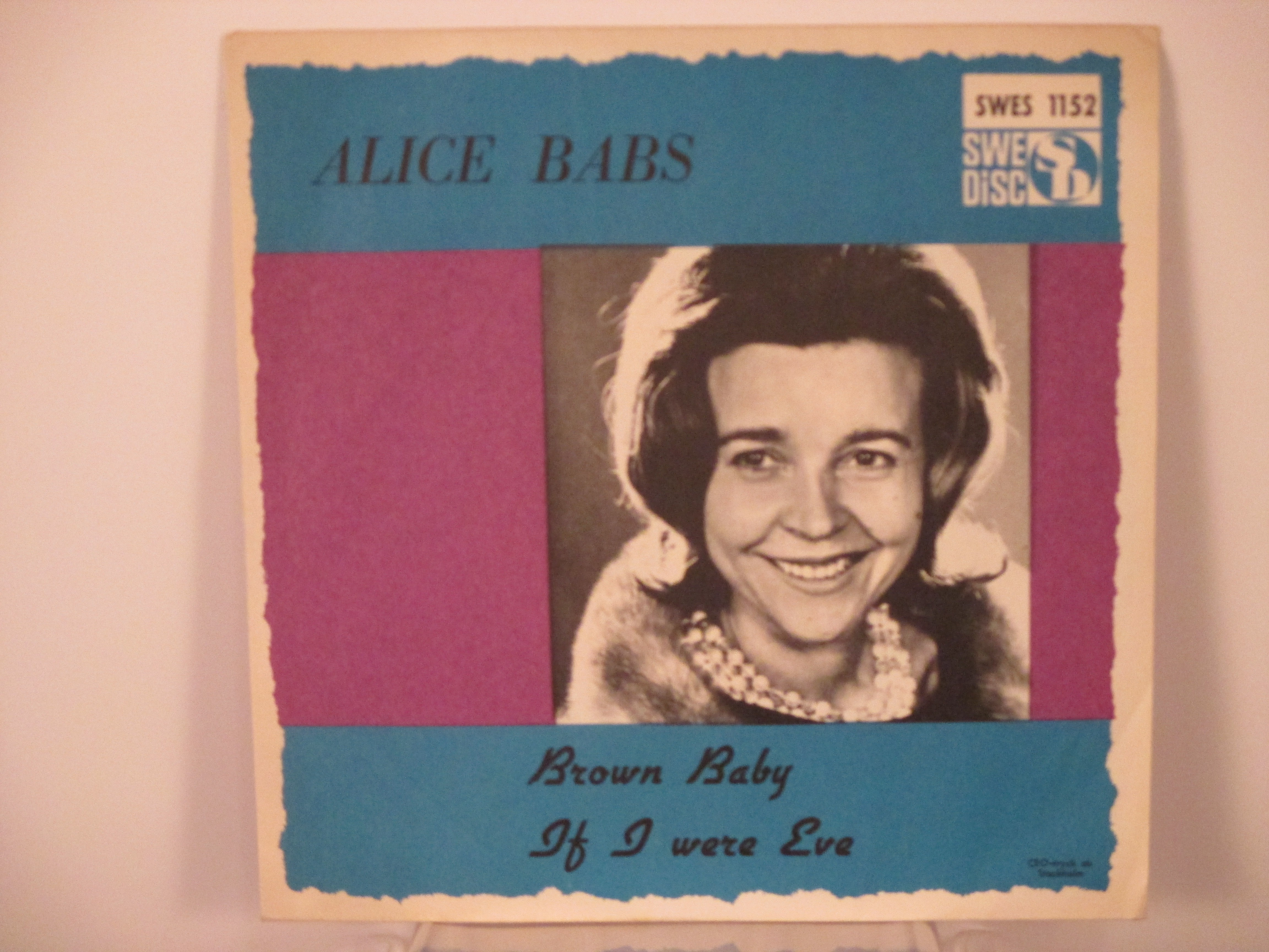 ALICE BABS : Brown baby / If I were Eve