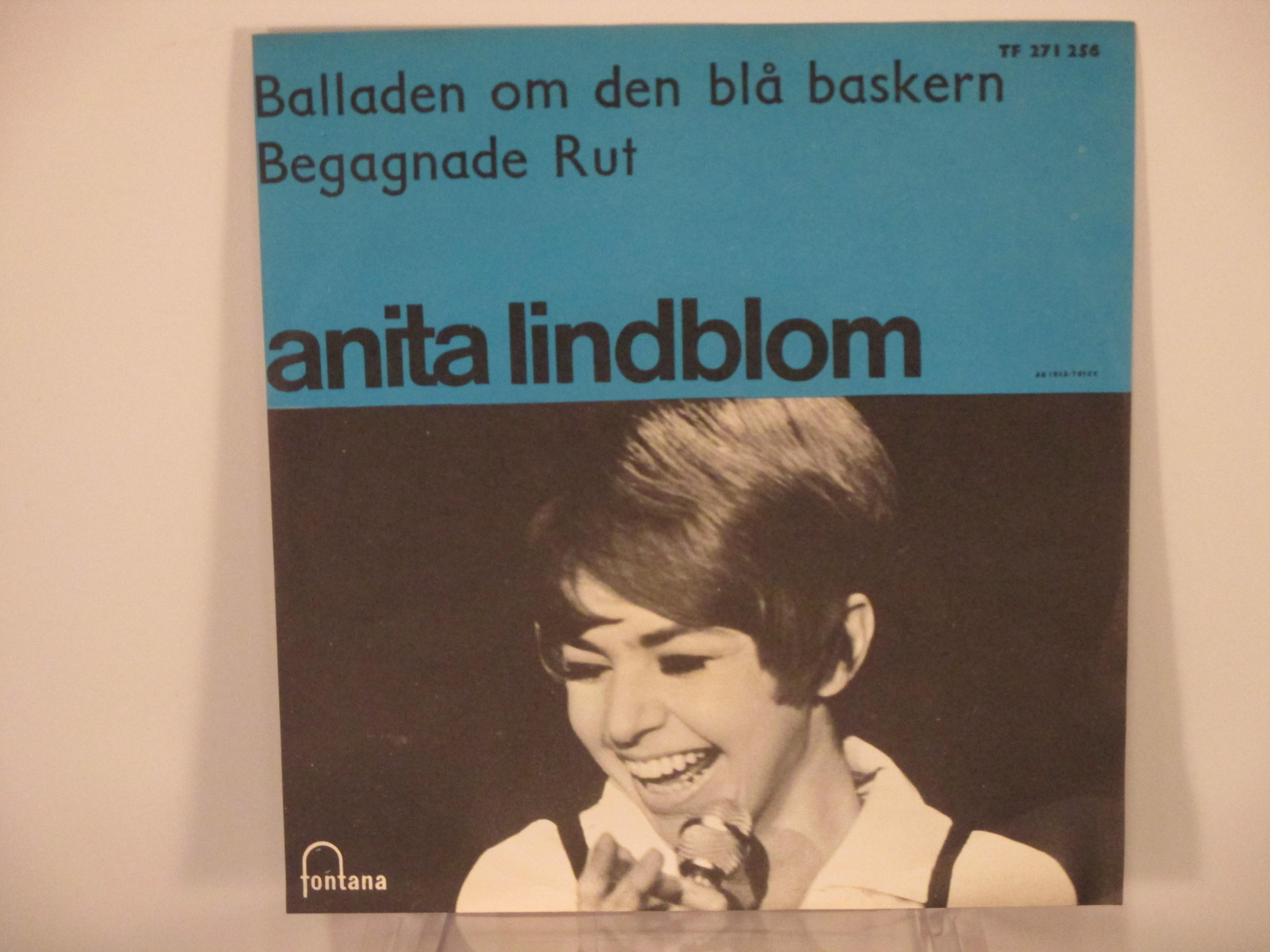 ANITA LINDBLOM : Balladen om den blå baskern / Begagnade Rut