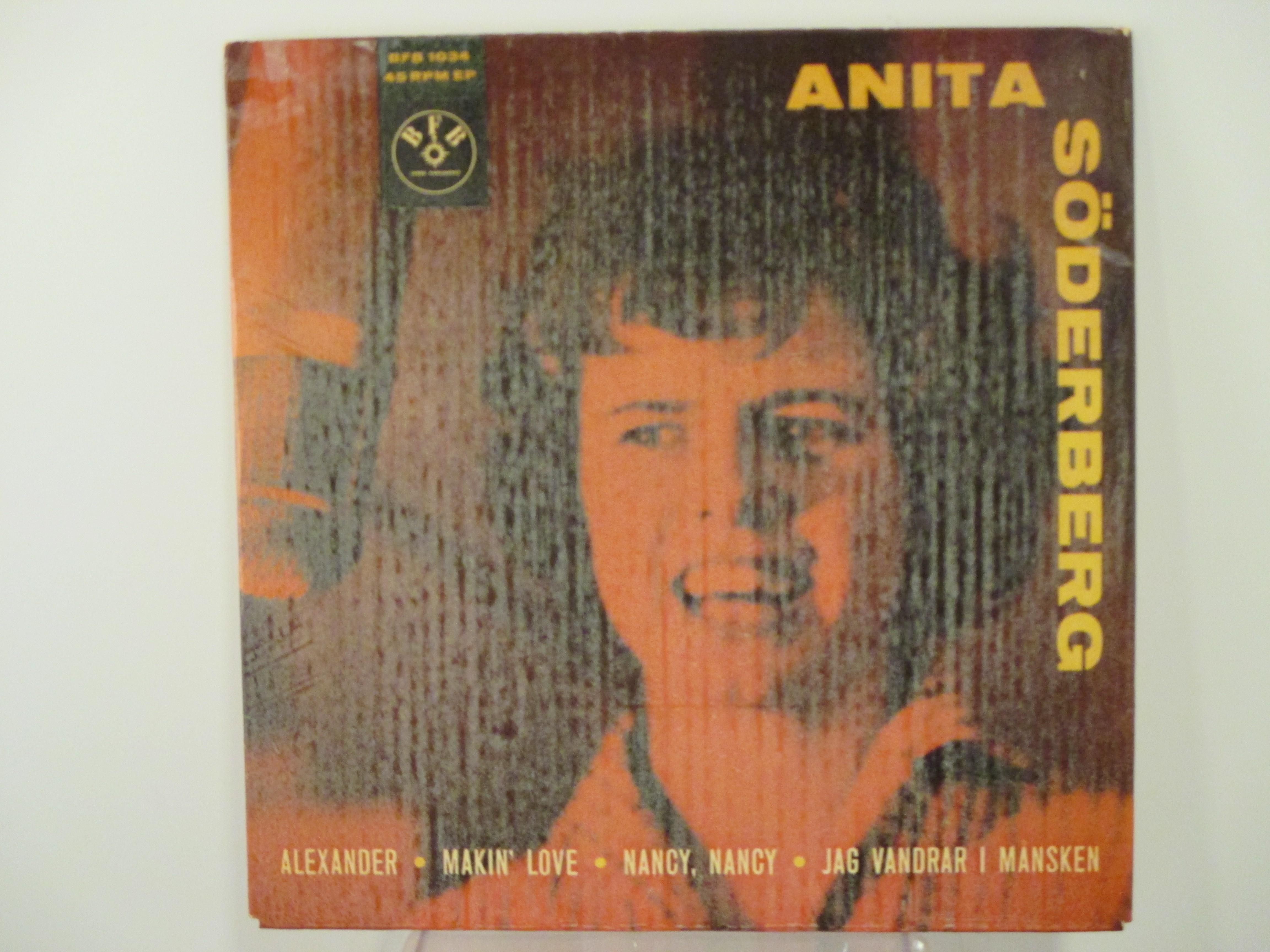 ANITA SÖDERBERG : (EP) Alexander / Makin' love / Nancy, Nancy / Jag vandrar i månsken