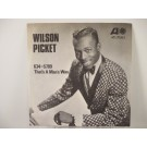 WILSON PICKET : 634-5789 / That's a man's way