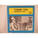 SLY & FAMILY STONE : Thank you / Everybody is a star