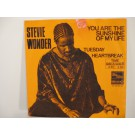 STEVIE WONDER : You are the sunshine of my life / Tuesday heartbreak