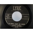 LITTLE ALFRED & BERRY CUPS : It don't hurt no more / Broken heart