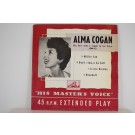 ALMA COGAN : (EP) Willie can / Don't ring-a da bell / Lizzie Borden / Bluebell