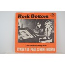 LYNSEY DE PAUL & MIKE MORAN : Rock bottom / You shouldn't say that
