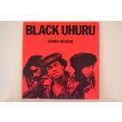 BLACK UHURU : Sponji teggae / Push push