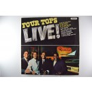 """FOUR TOPS : """"Four Tops Live!"""""""
