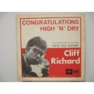 CLIFF RICHARD : Congratulations / High 'n' dry