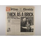 "JETHRO TULL : ""Thick as a brick"""