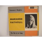 MARIANNE FAITHFULL : Summer nights / The sha la la song