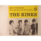 KINKS : Milk cow blues / Gotta get the first plane home