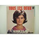 SHEILA : (EP) Tous les deaux / Dans la glace / Le folklore americain / A la meme heure