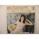 CARLY SIMON : That's the way I've always heard it should be / Alone